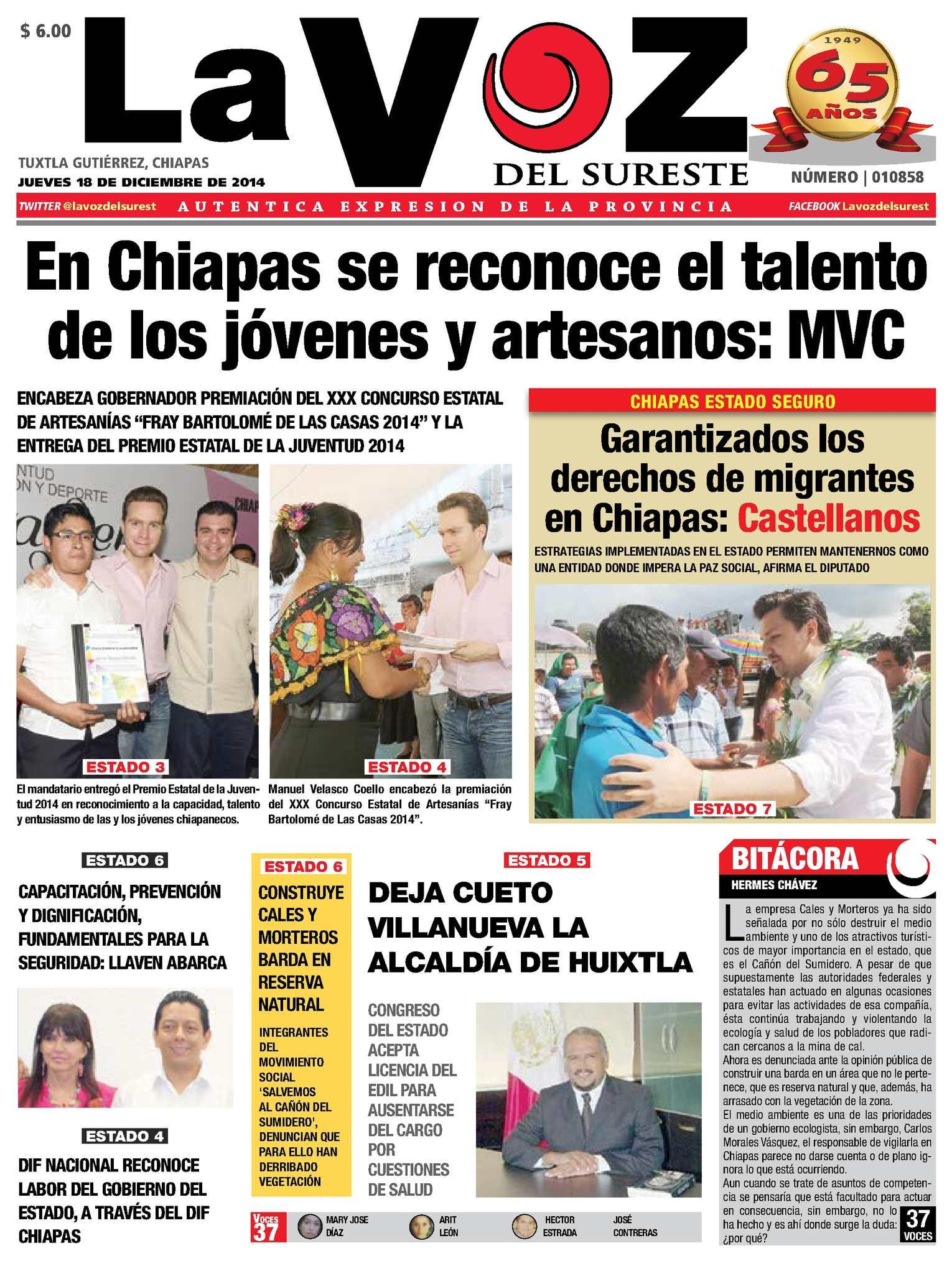 Calaméo - Diario La Voz del Suereste
