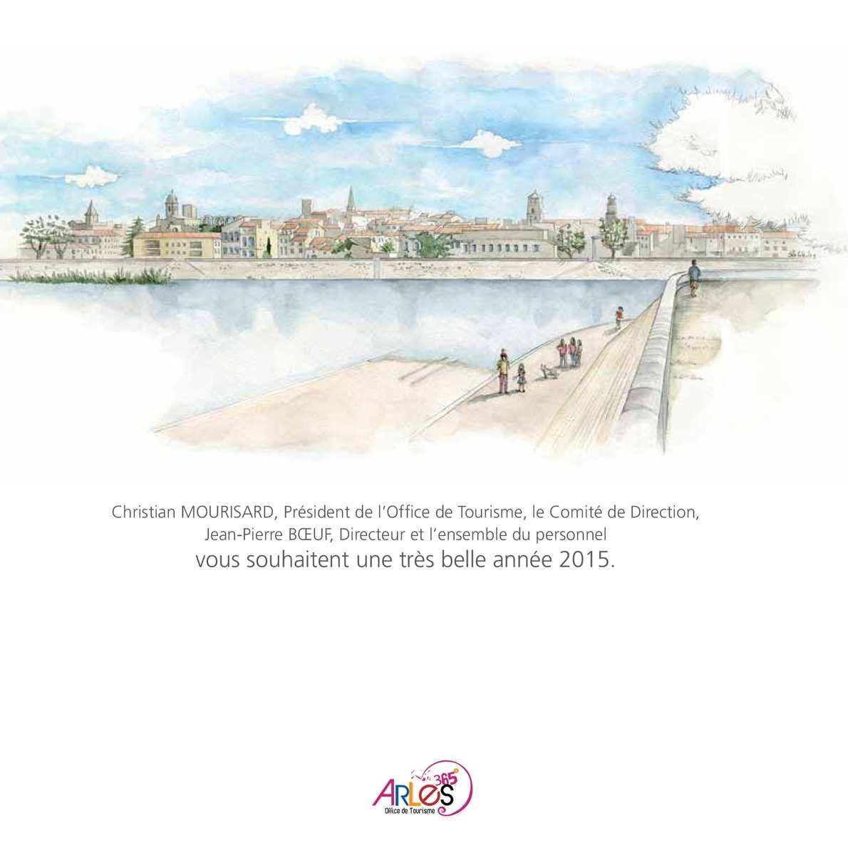 Calam o calendrier 2015 de l 39 office de tourisme d 39 arles - Office de tourisme de arles ...