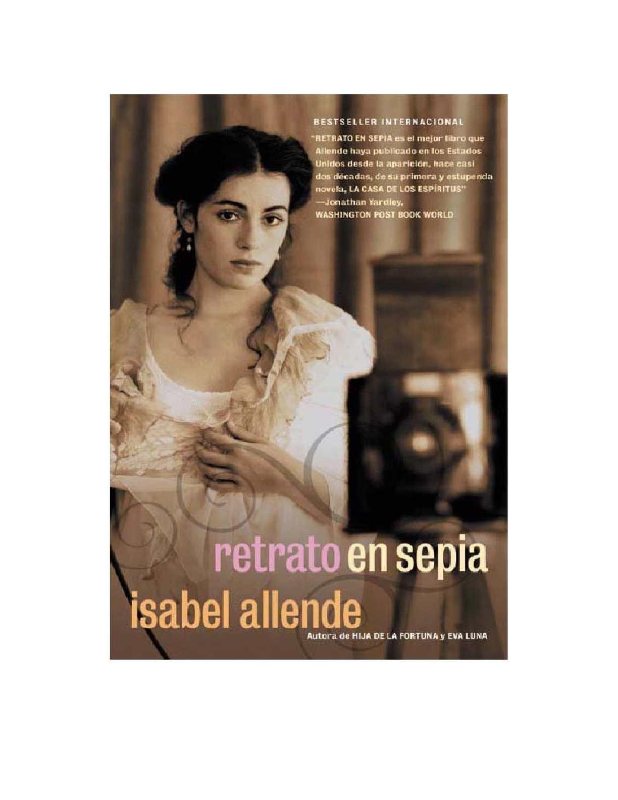 Calaméo - Isabel Allende. Retrato En Sepia