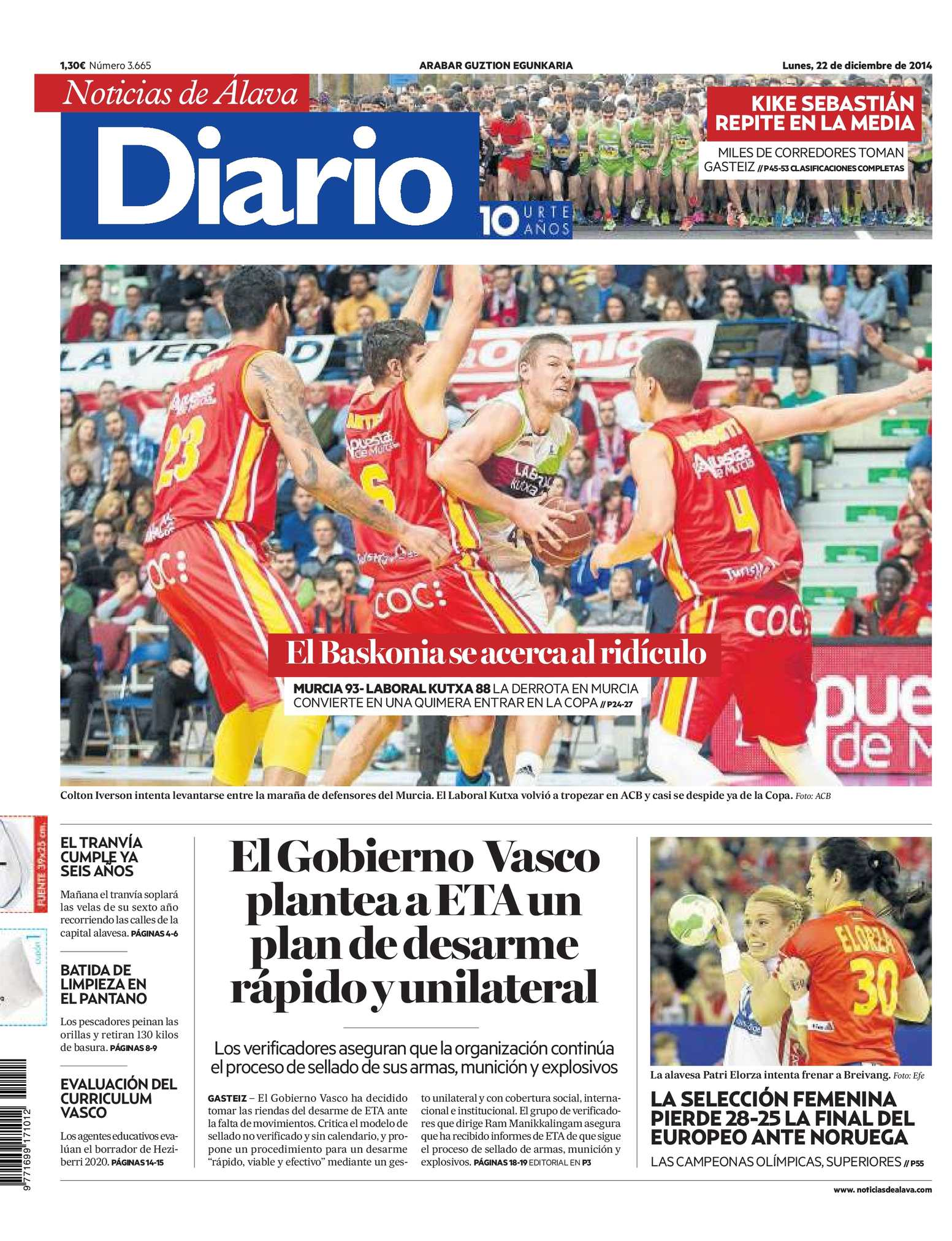 Calaméo - Diario de Noticias de Álava 20141222