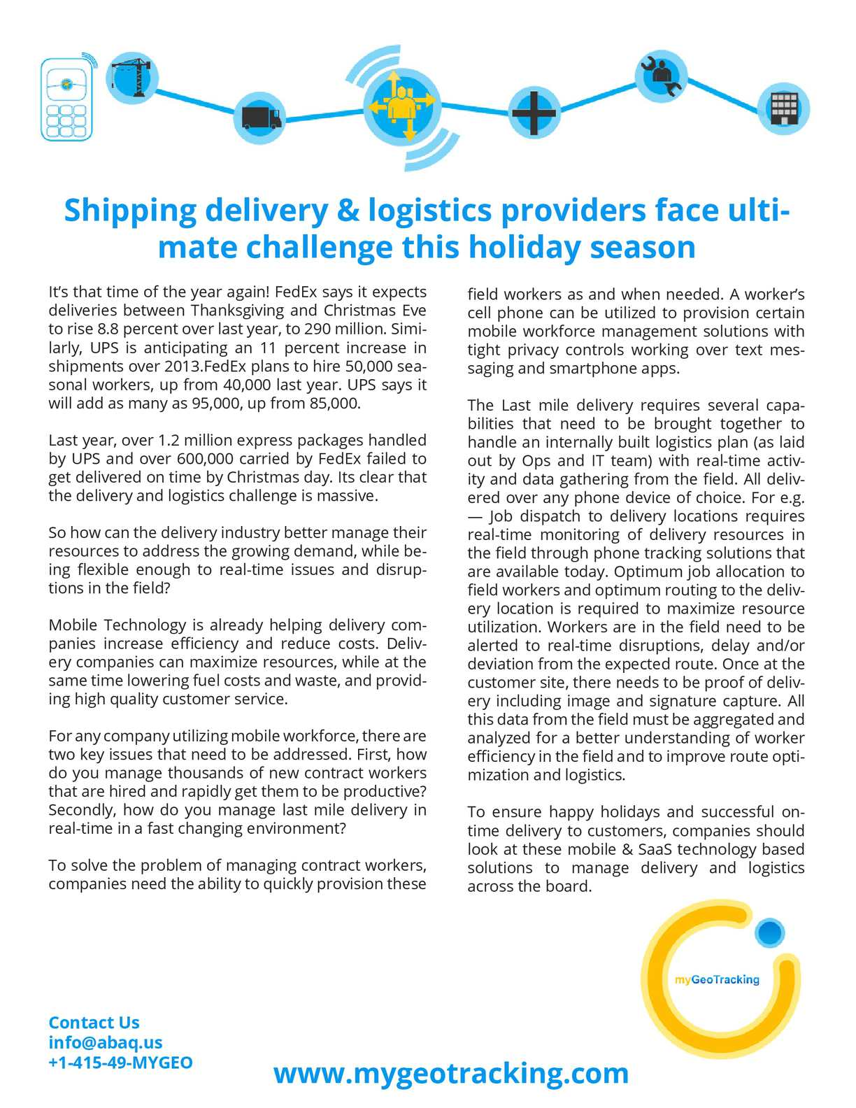 Calaméo - Shipping delivery & logistics providers face ultimate ...