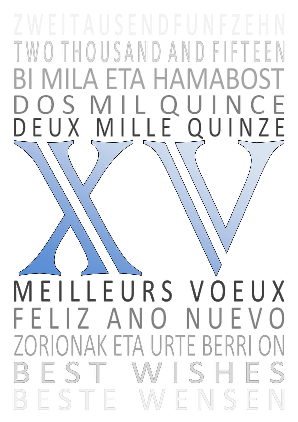 Catalogue Carte De Voeux 2015