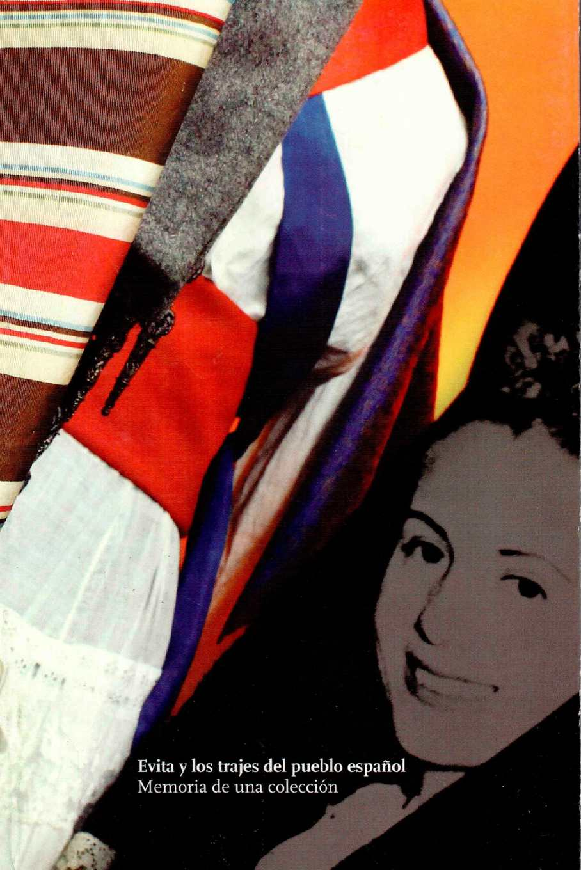 Evita y los trajes del pueblo español