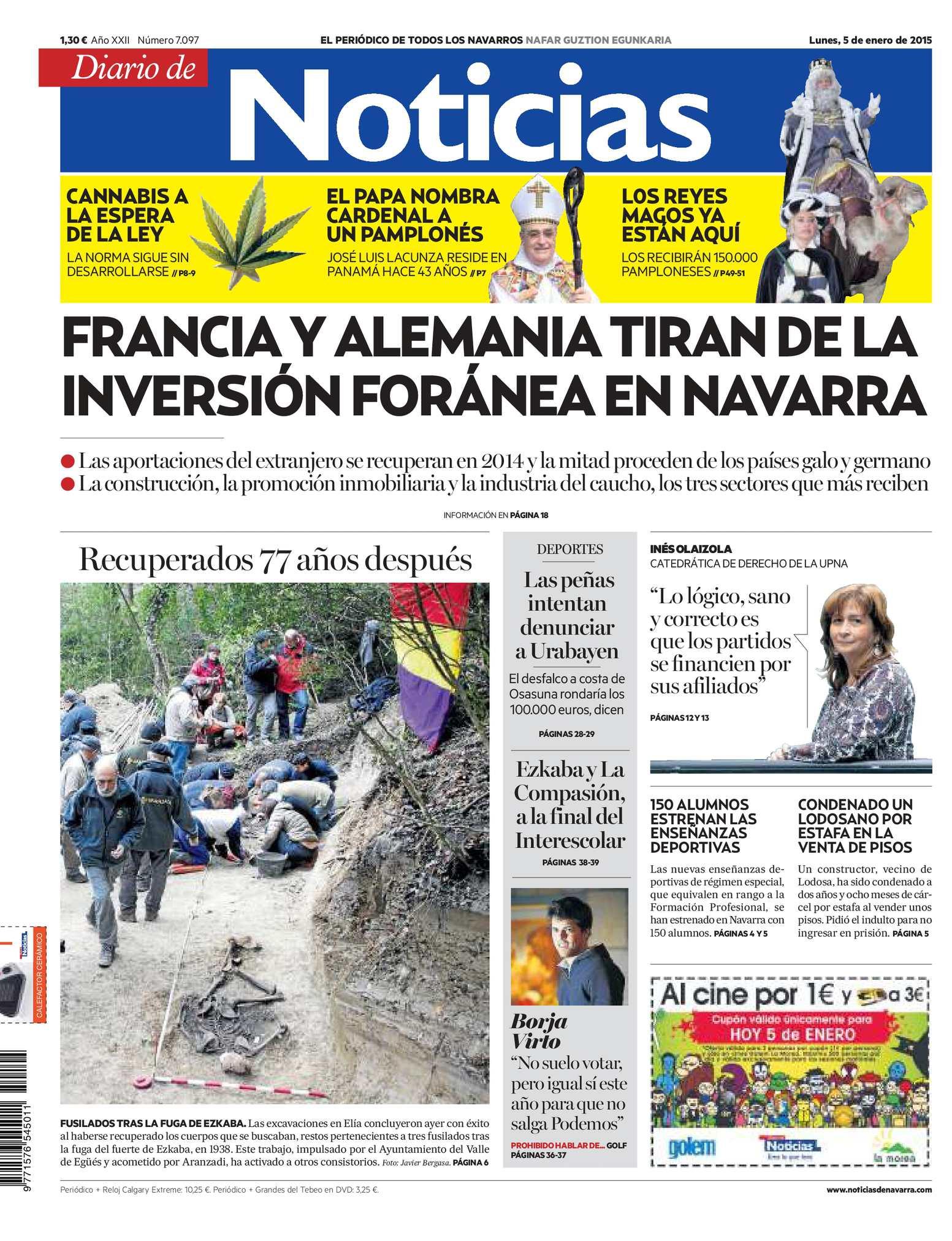 Calaméo - Diario de Noticias 20150105