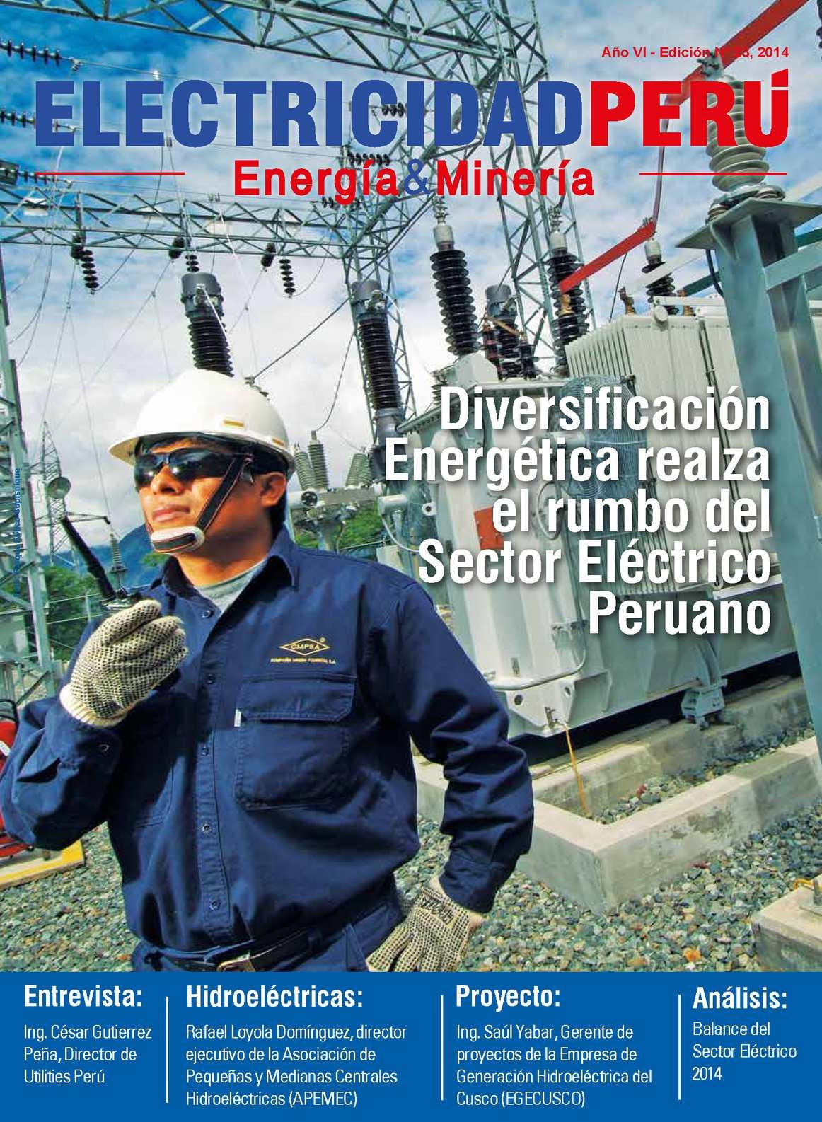 b31c0be312490 Calaméo - Revista Electricidad Perú - Edición 23