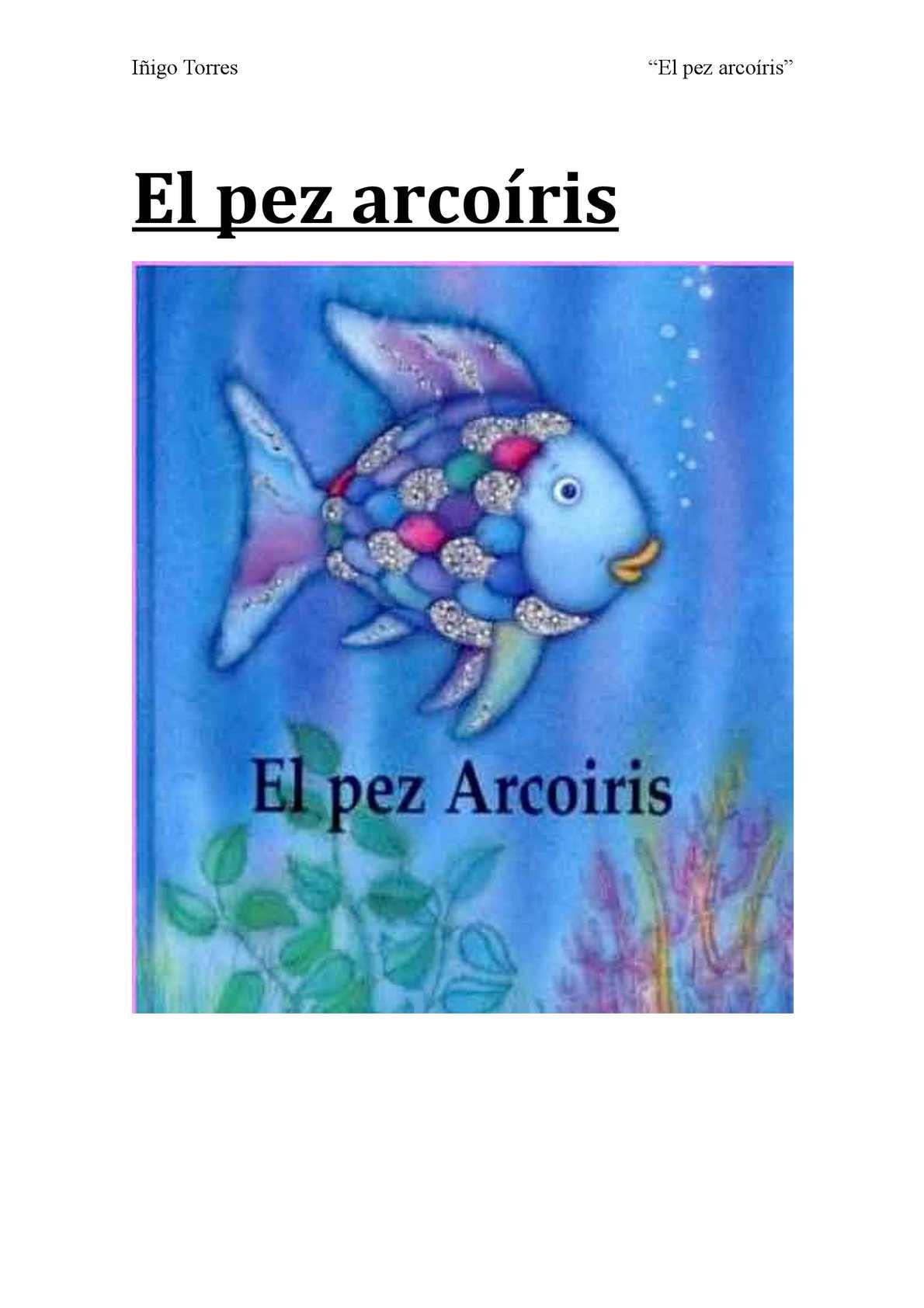 Cuento: El pez arcoíris