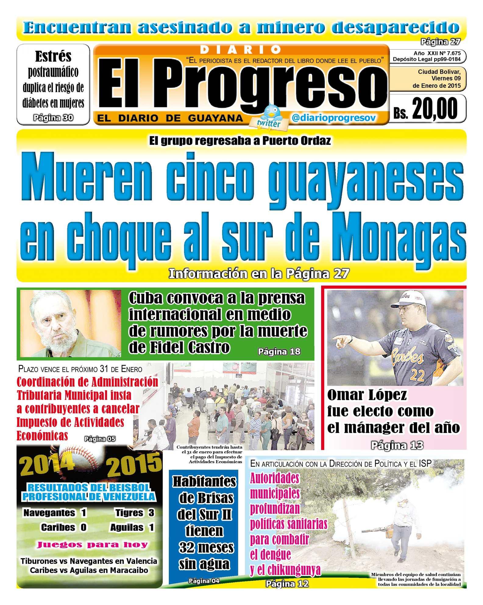 5861306be2 Calaméo - DiarioelprogresoEDICIÓNDIGITAL 09-01-2015