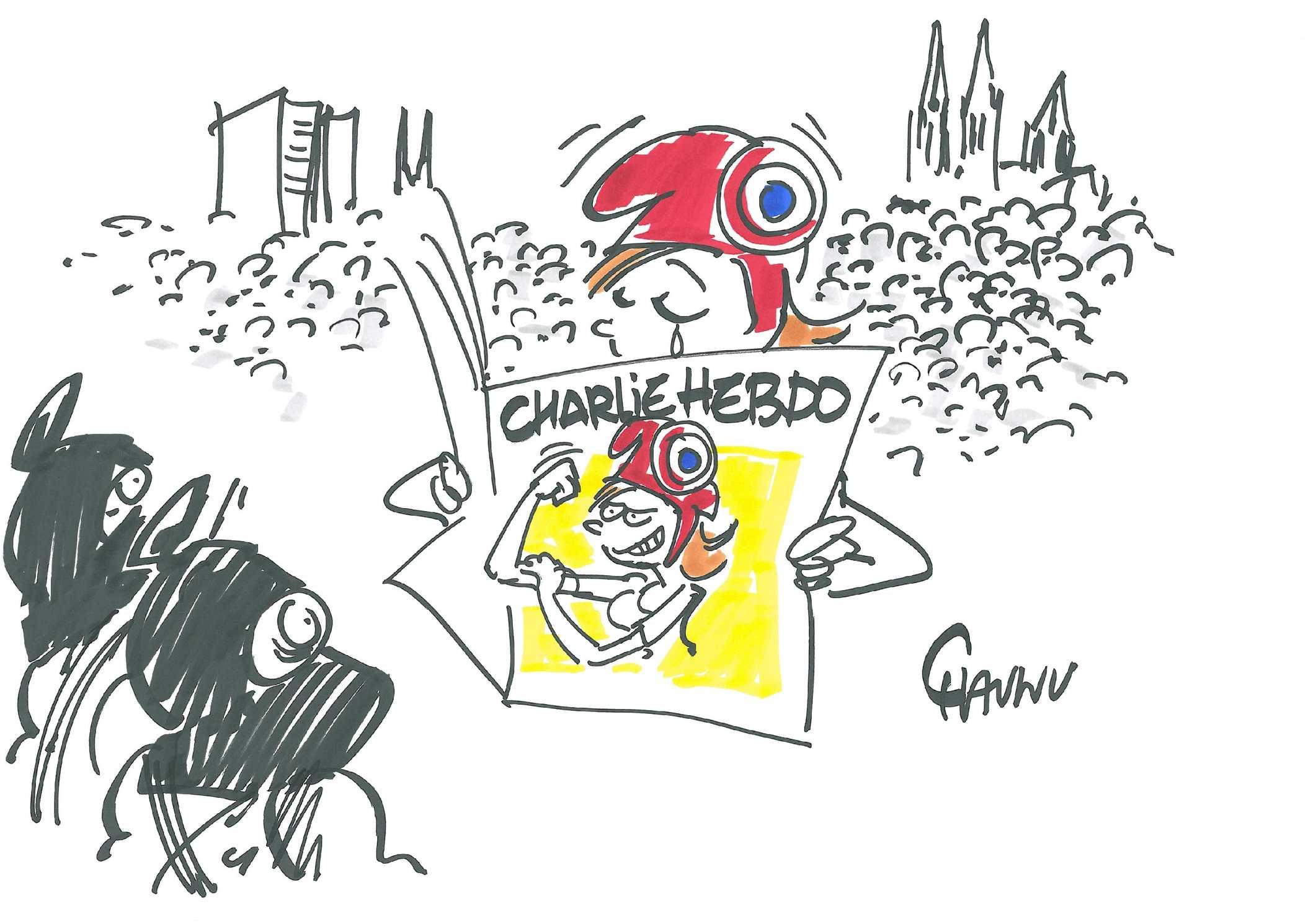 Calam o la voix est libre sp ciale attentat contre le journal charlie hedbo - Journal basse normandie ...