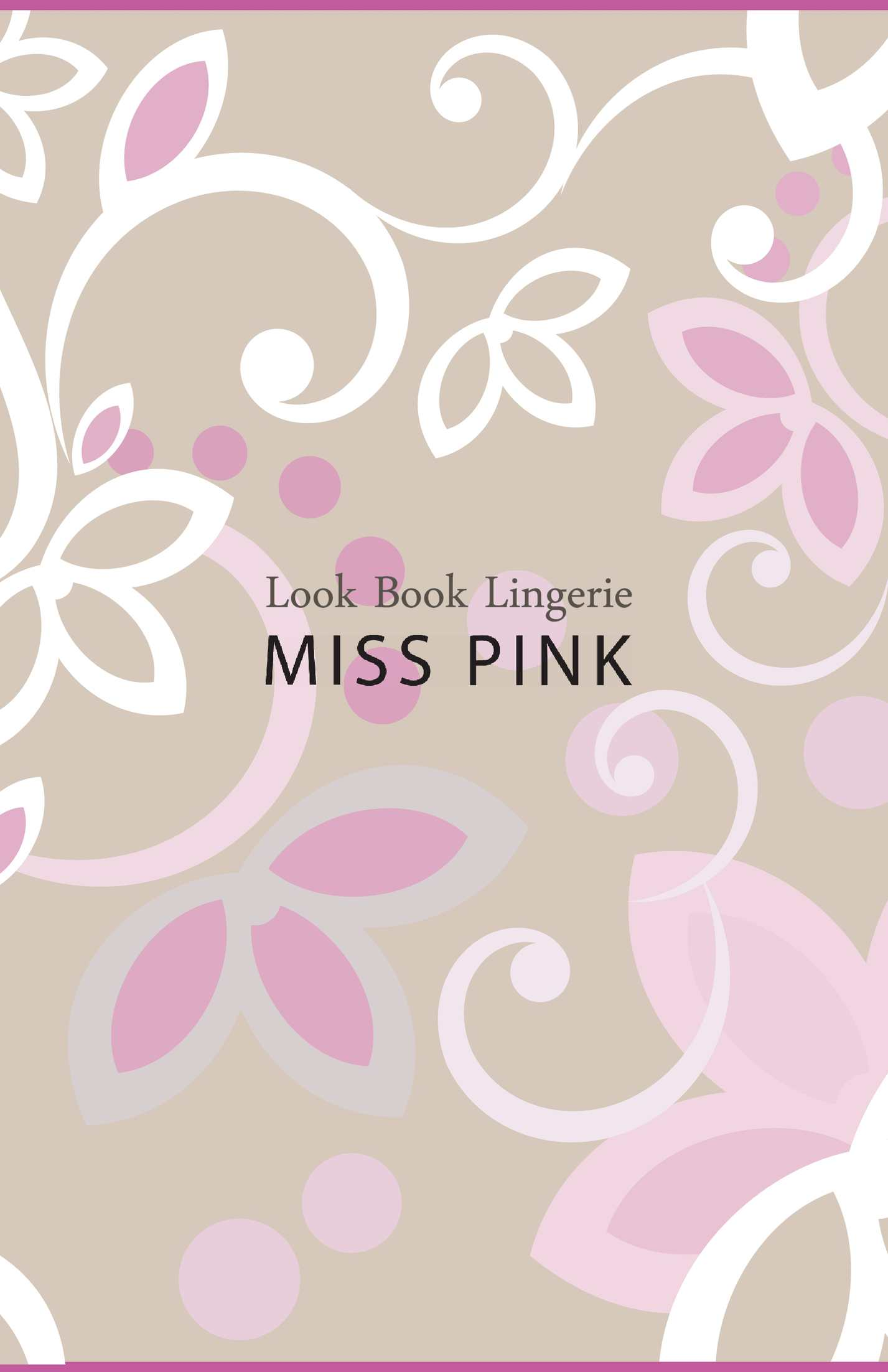 Look Book Miss Pink Lingerie