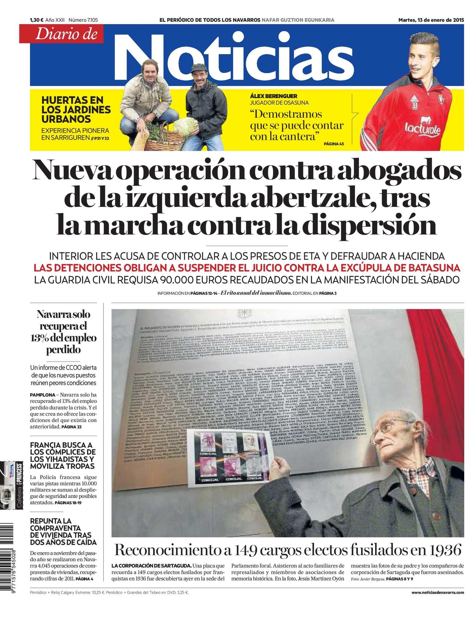 Calaméo - Diario de Noticias 20150113
