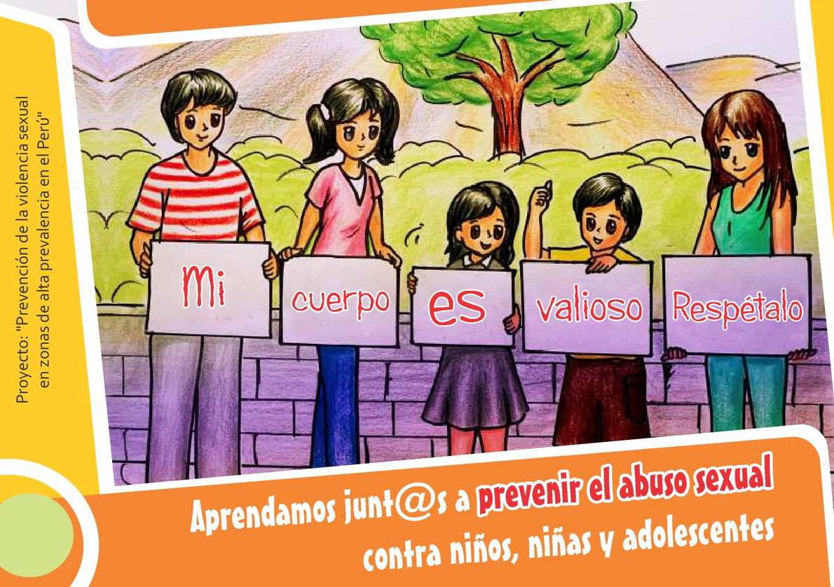 Aprendamos junt@s a prevenir el abuso sexual contra niños, niñas y adolescentes