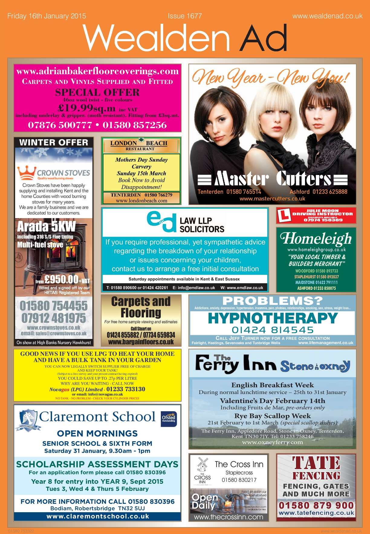 Calaméo - Wealden Advertiser 16/1/2015