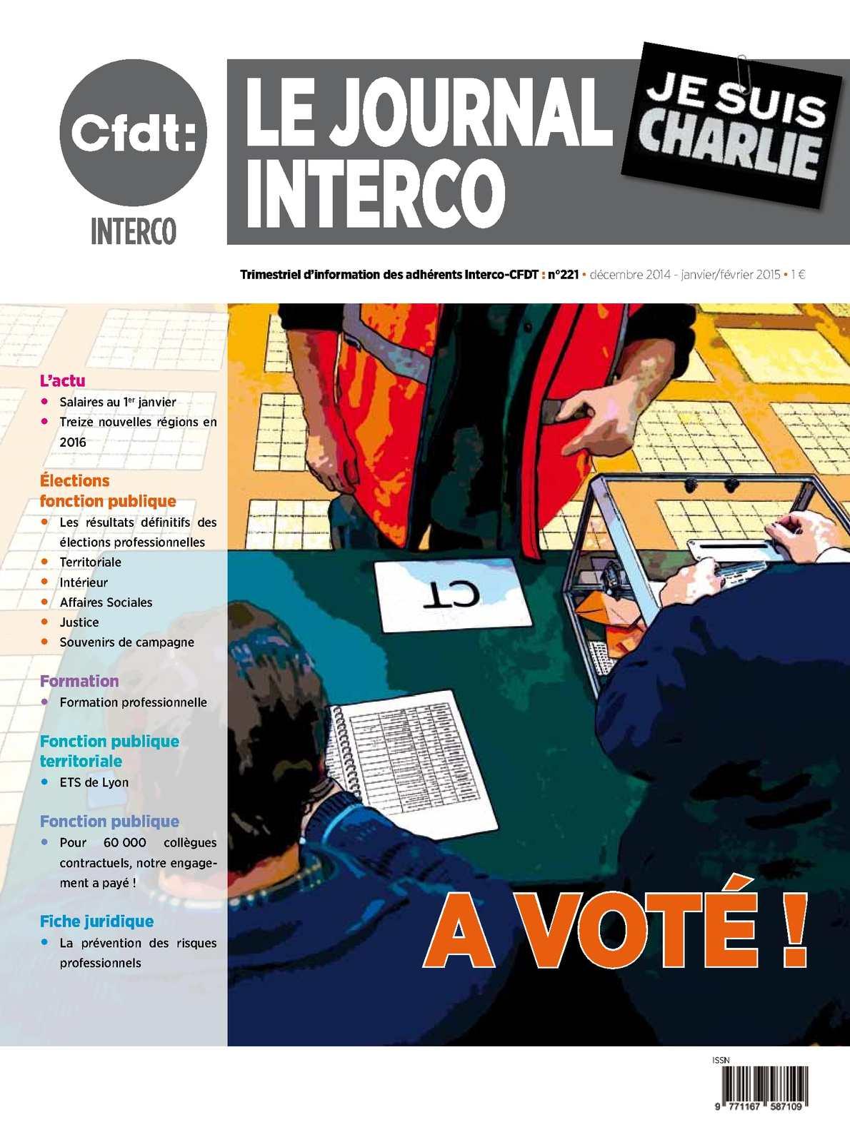 46f12387670 Calaméo - Le Journal Interco-CFDT N° 221 (décembre 2014 à février 2015)