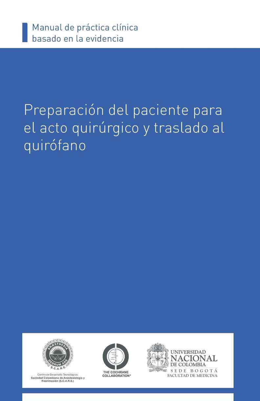 Calaméo - Preparación Del Paciente Para El Acto Quirúrgico Y ...