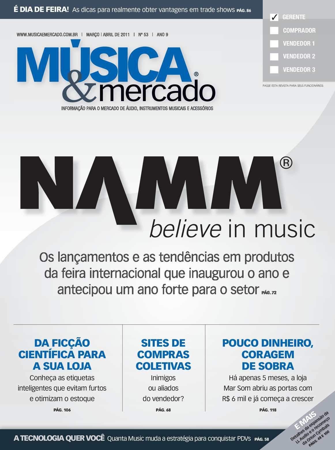 6f1b4414257 Calaméo -  53 MARÇO ABRIL 2011 - Música   Mercado em Português