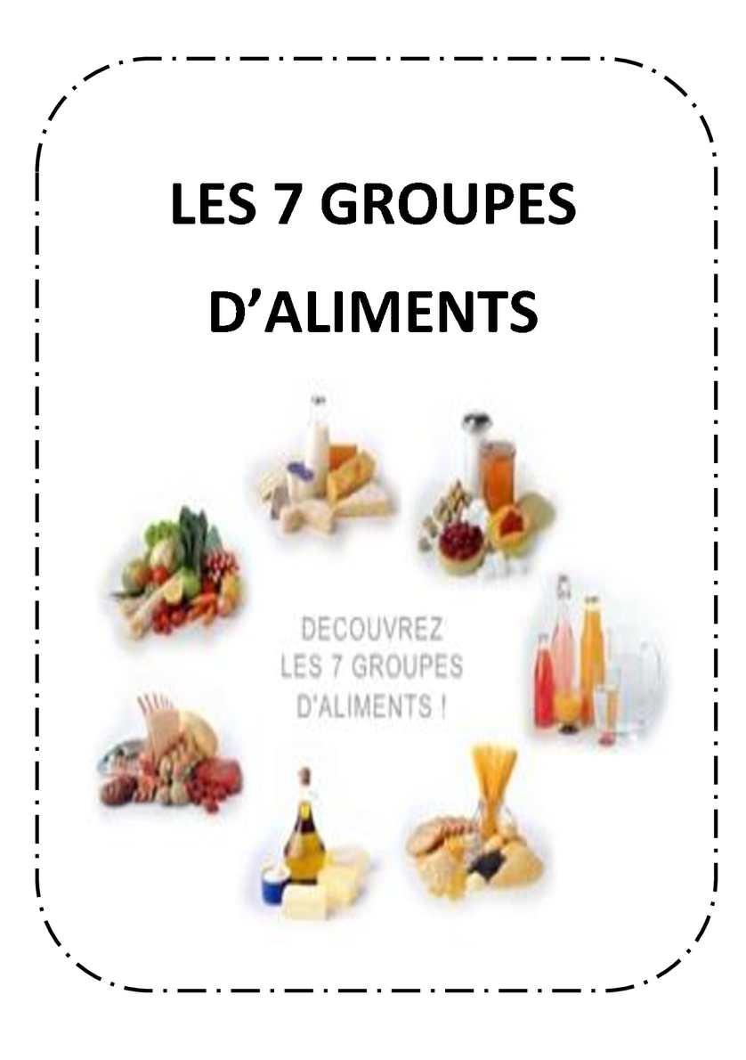 Calam o les 7 groupes d 39 aliments - Les aliments riches en glucides ...