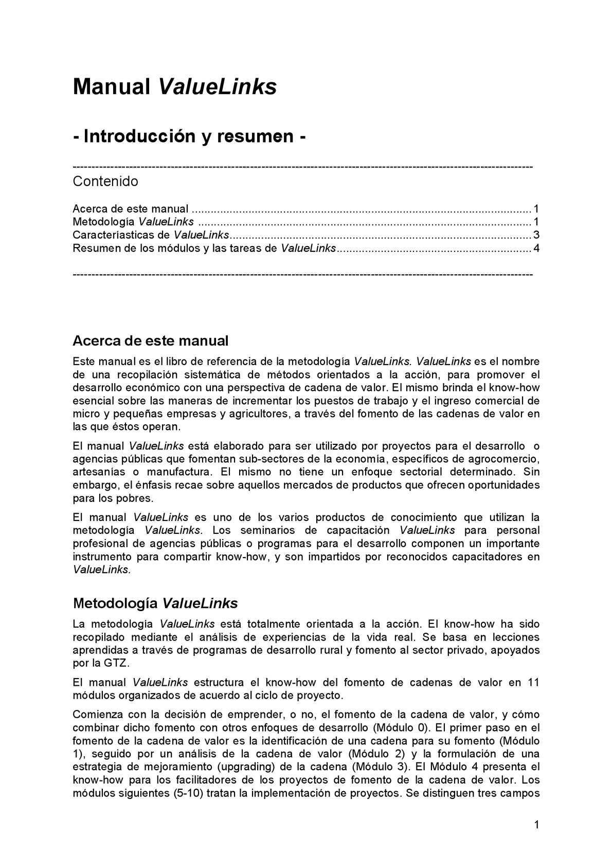 Calaméo - Manual ValueLinks