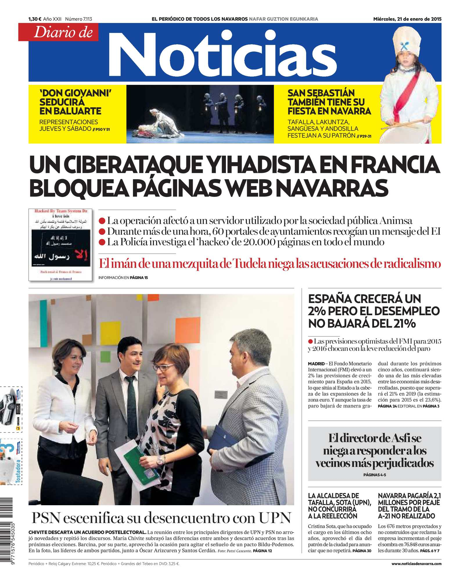 Calaméo - Diario de Noticias 20150121