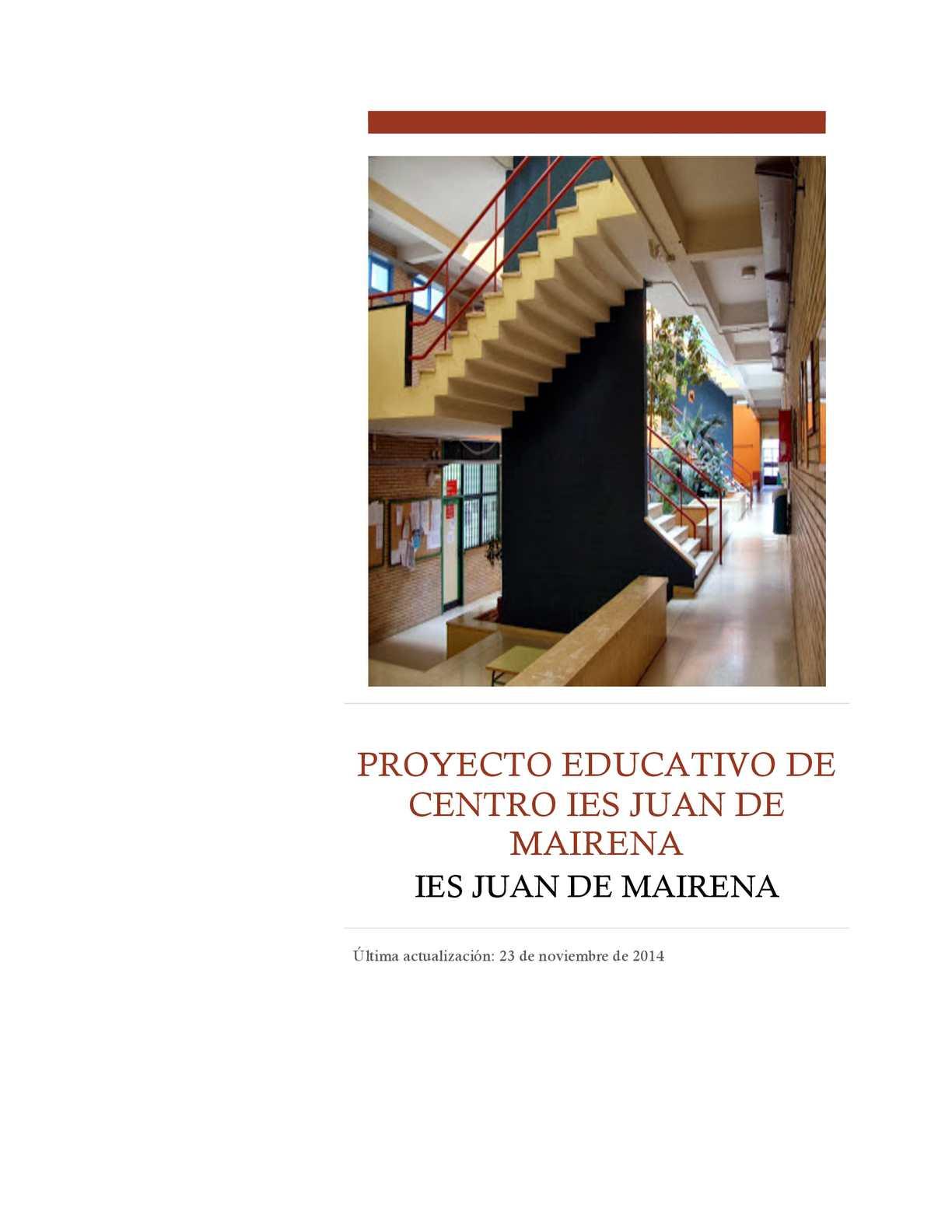 Proyectoeducativo Juande