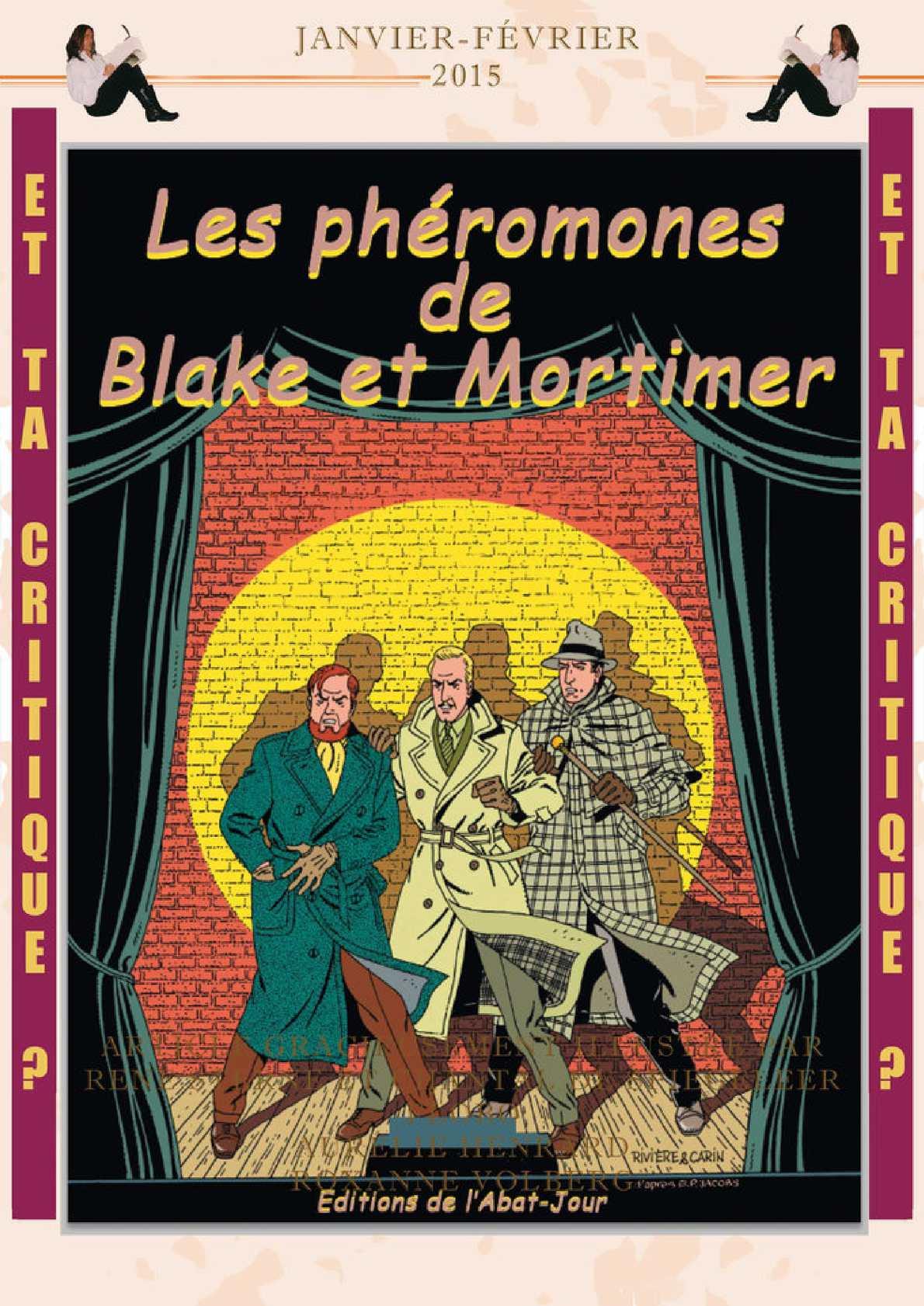 Les phéromones de Blake et Mortimer