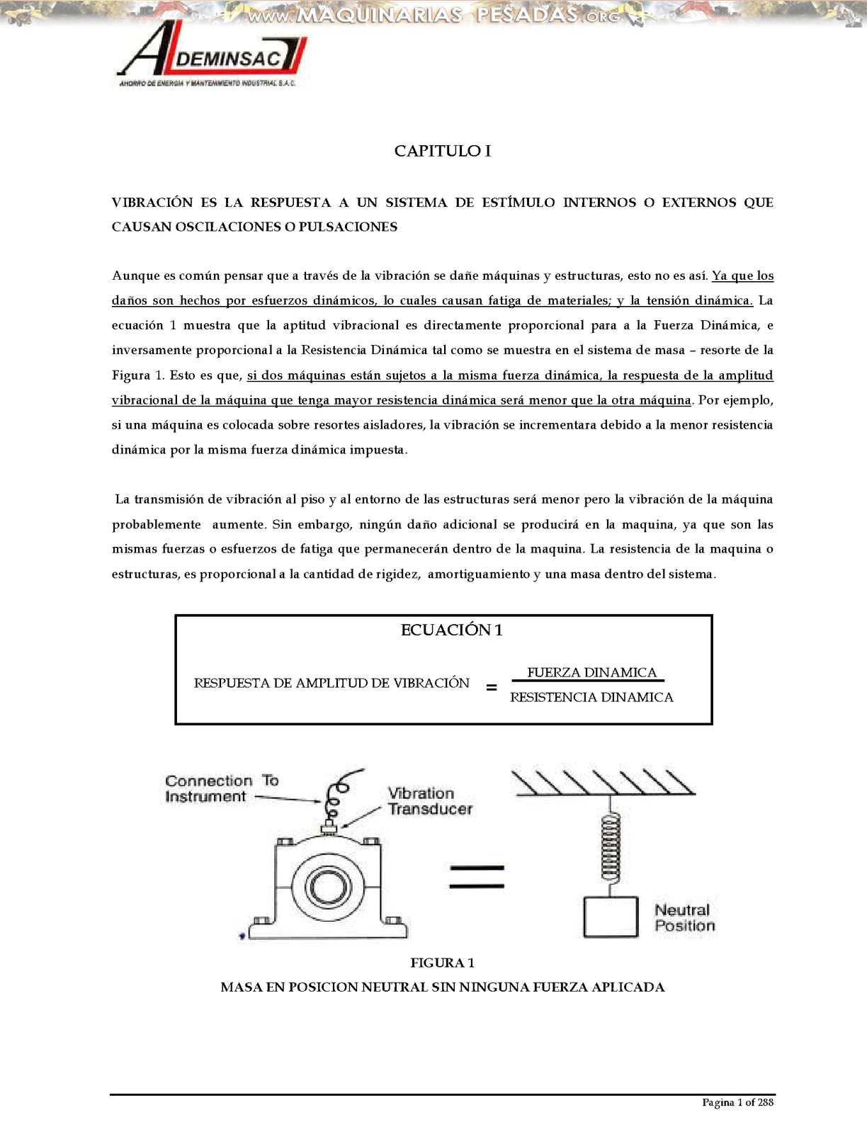 Calaméo - Manual Analisis Vibracional Ii Vibraciones