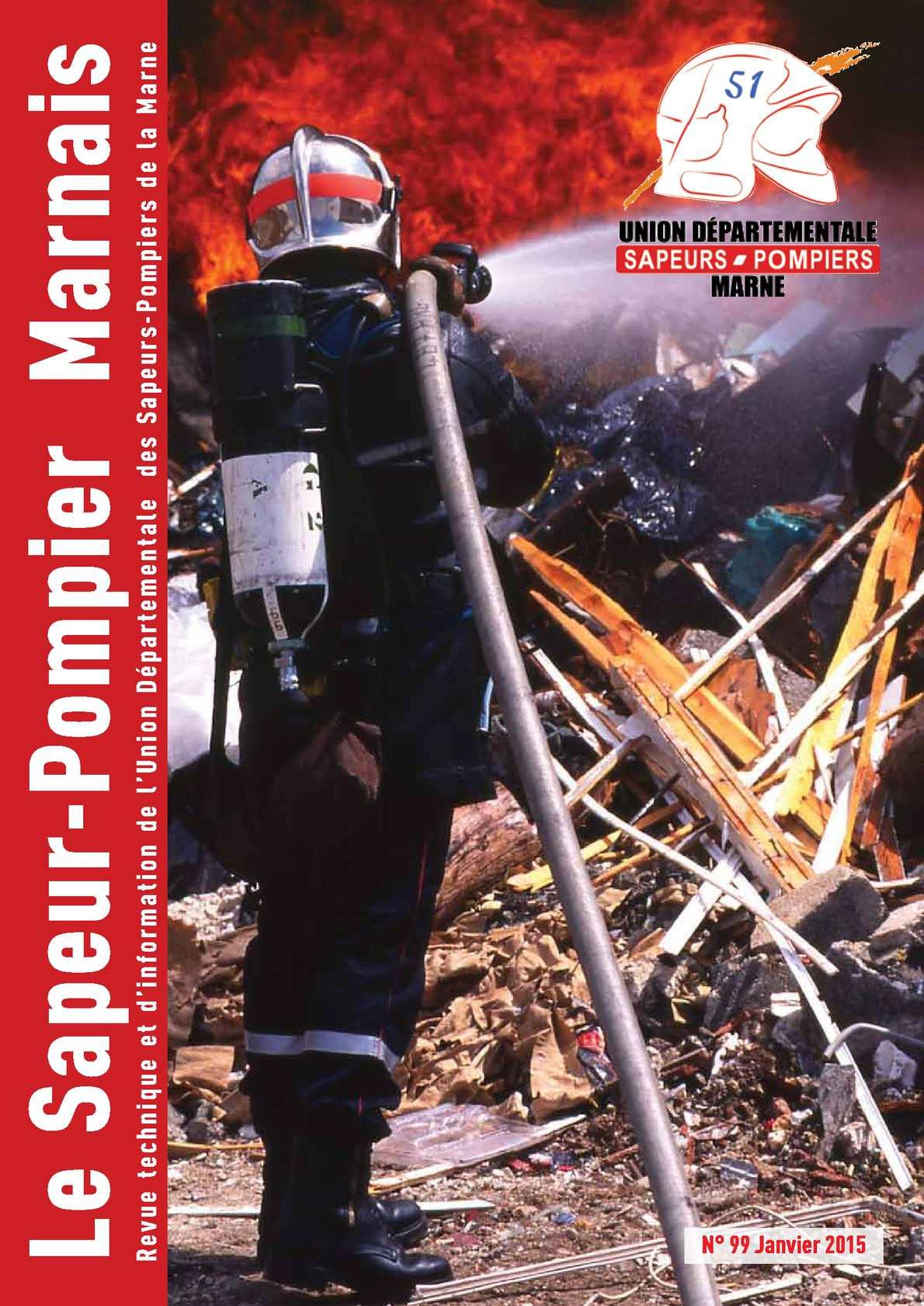 Calam o le sapeur pompier marnais n 99 janvier 2015 - Grille indiciaire adjudant sapeur pompier professionnel ...
