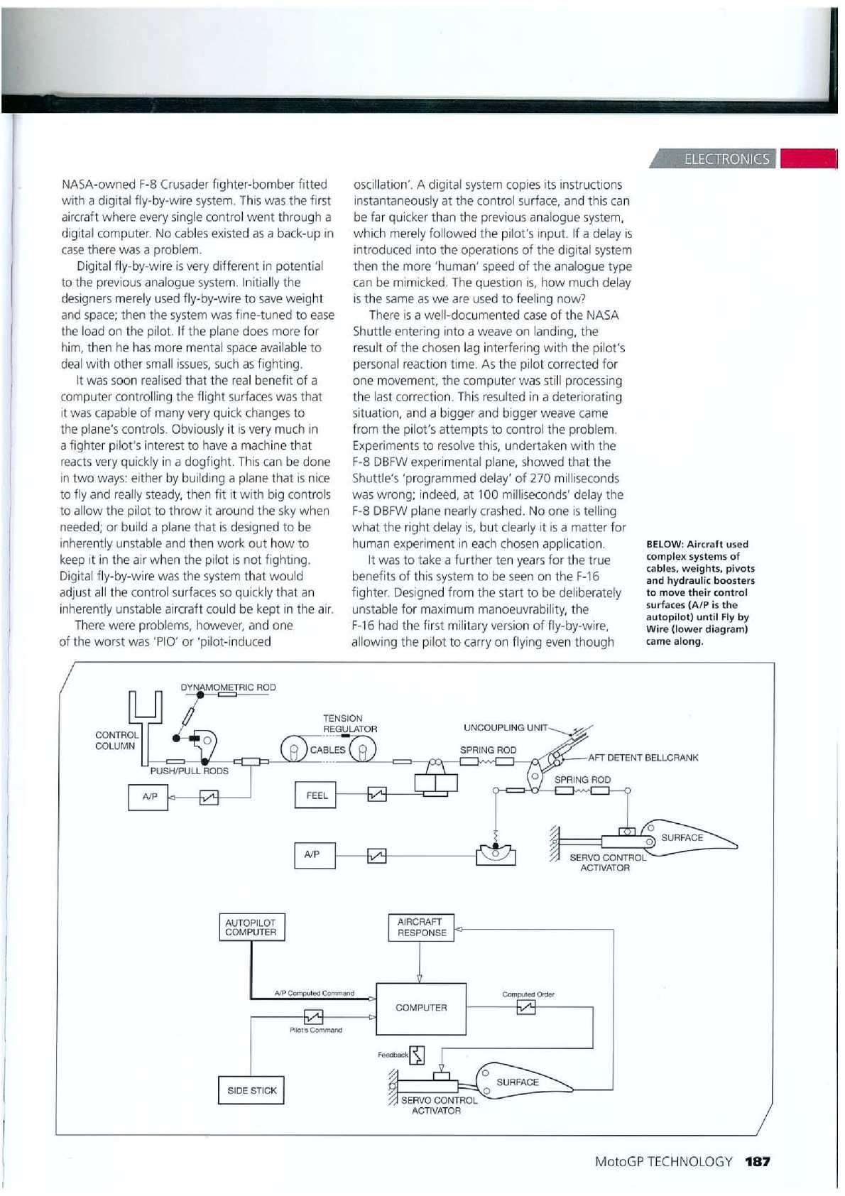 Ausgezeichnet Fly By Wire Computer Ideen - Elektrische Schaltplan ...