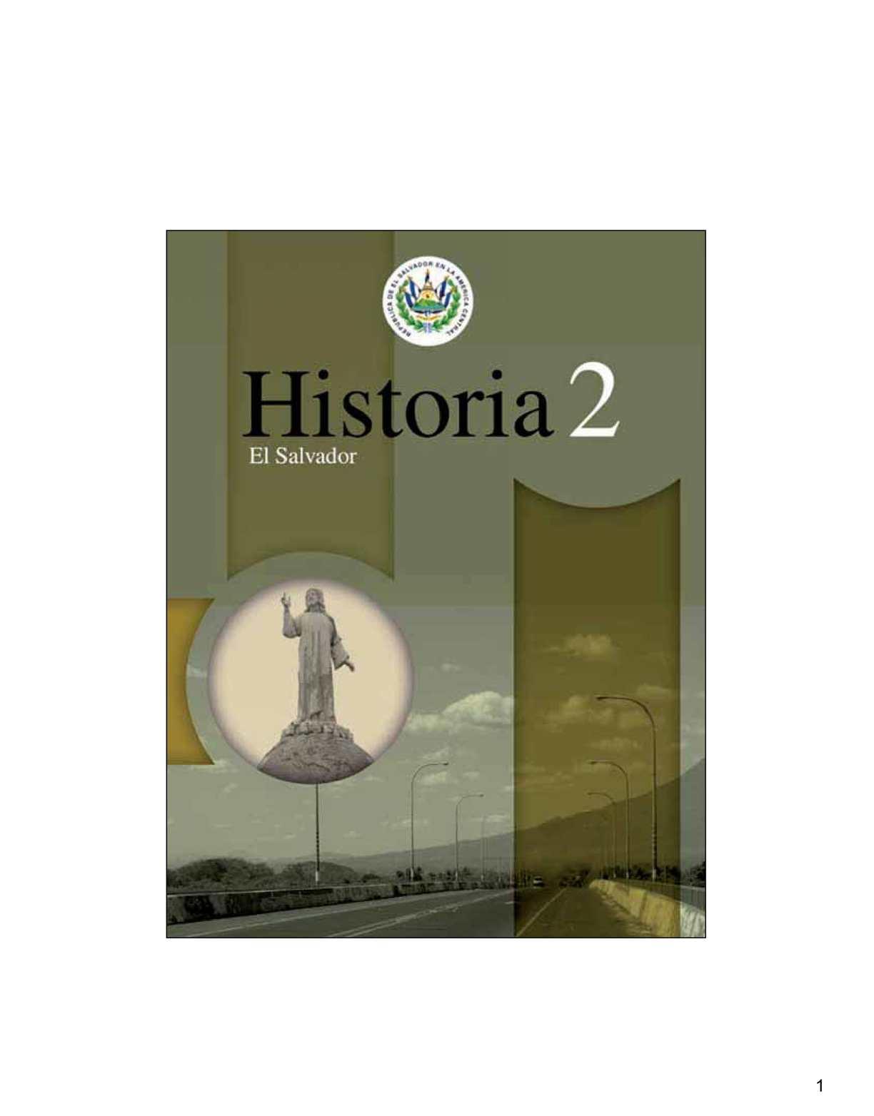 Calaméo - Historia de El Salvador 02