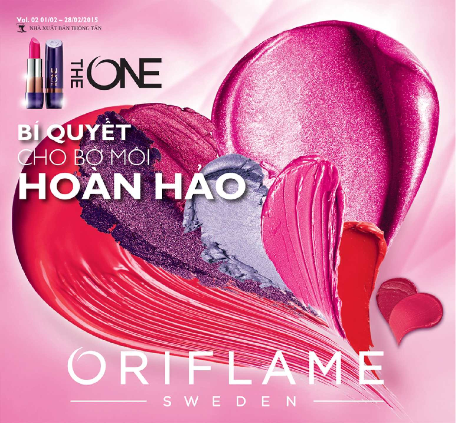 Catalogue My Pham Oriflame 2-2015