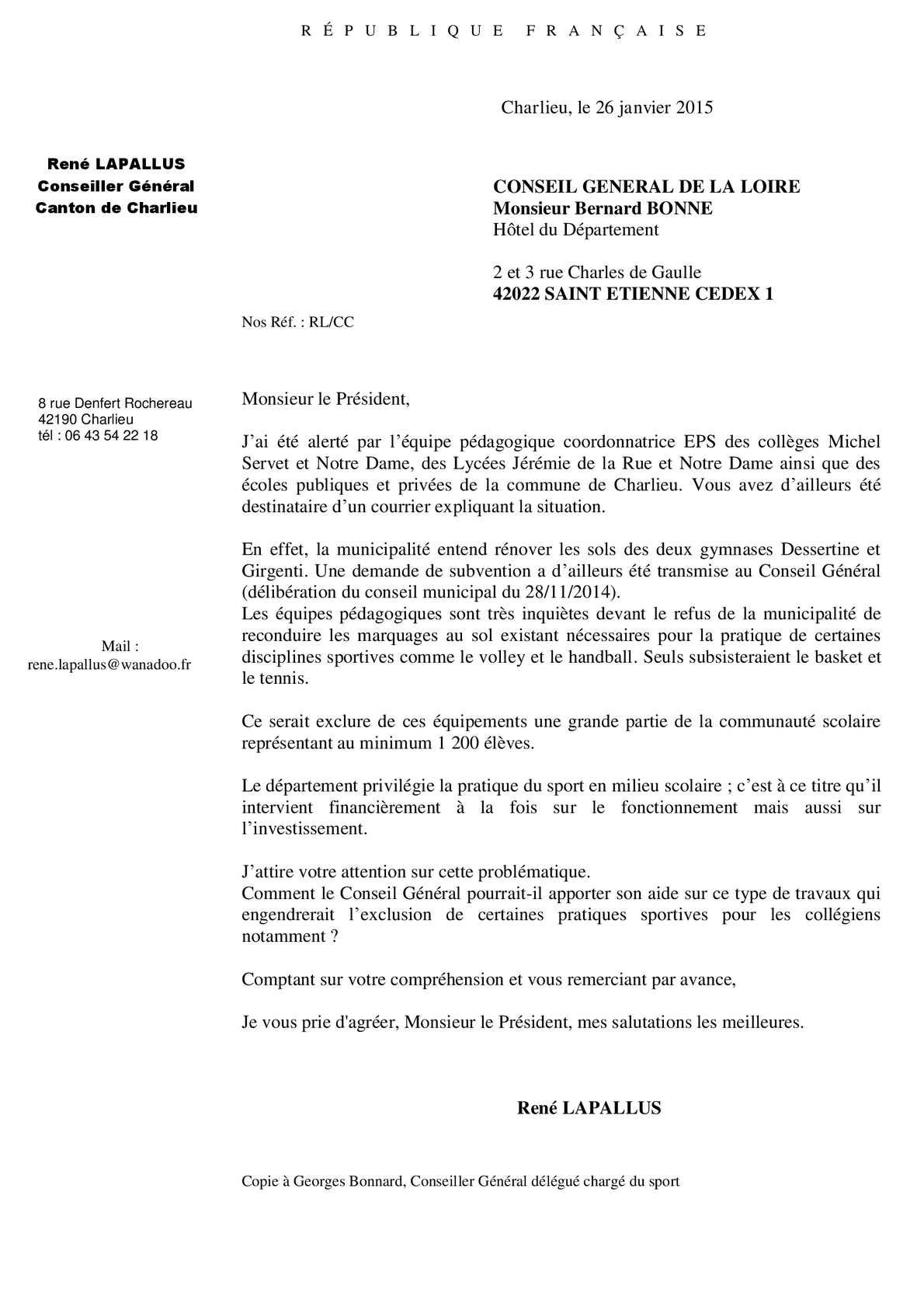 Calameo Courrier A Bernard Bonne Pour Renovation Sols Gymnases