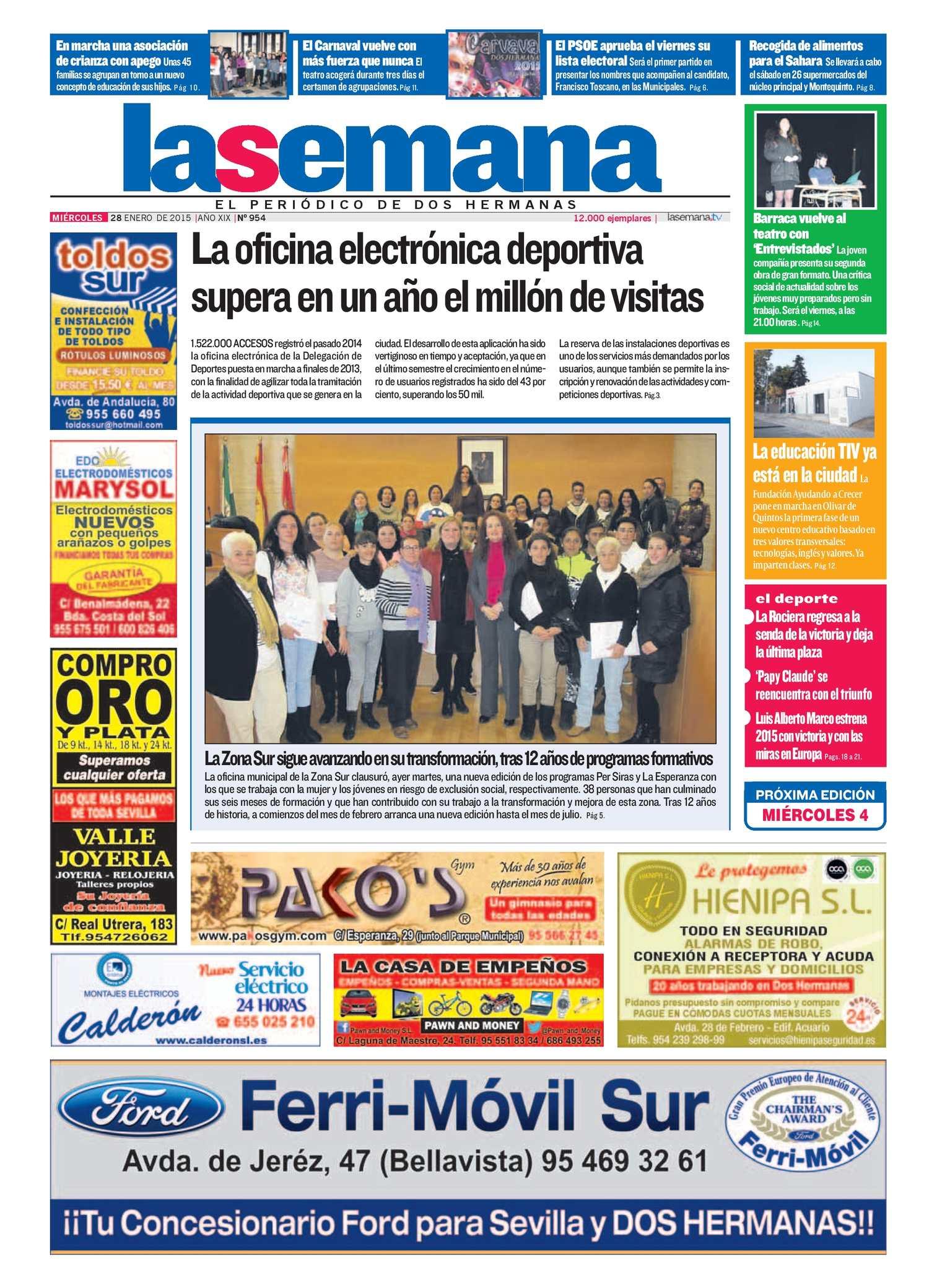 Calaméo - Periódico La Semana de Dos Hermanas Nº 954