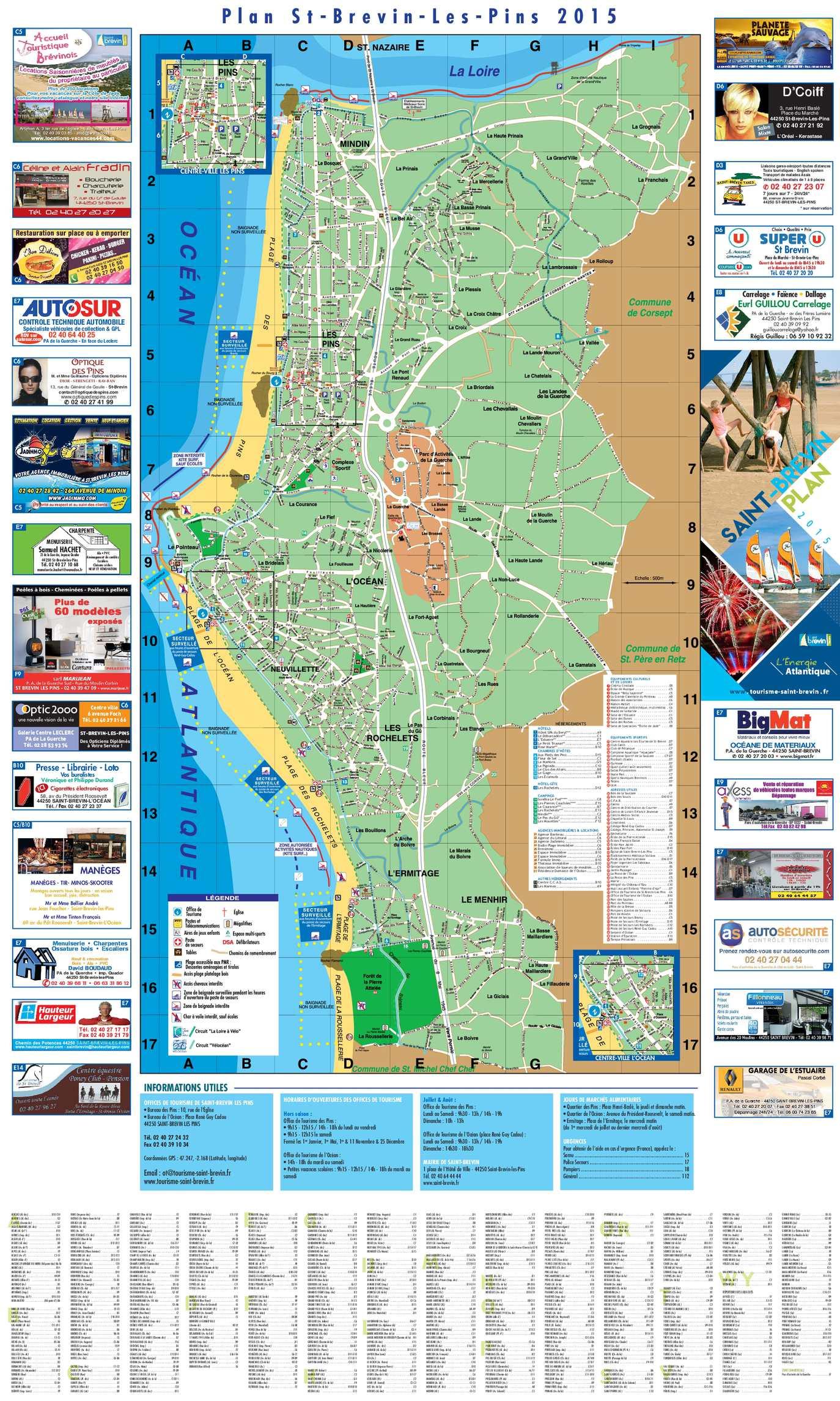 Calaméo Plan St Brevin 2015