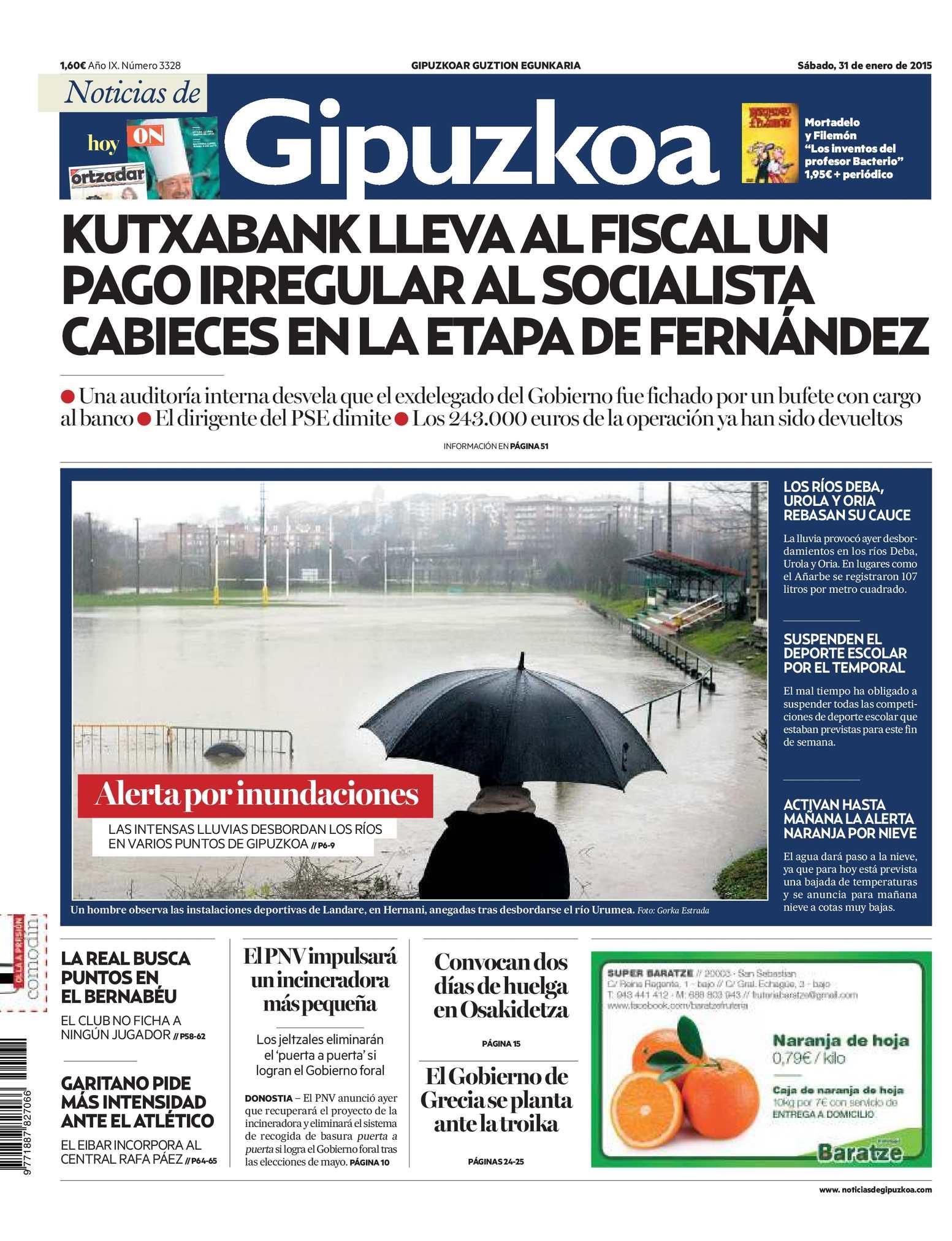 Calaméo - Noticias de Gipuzkoa 20150131