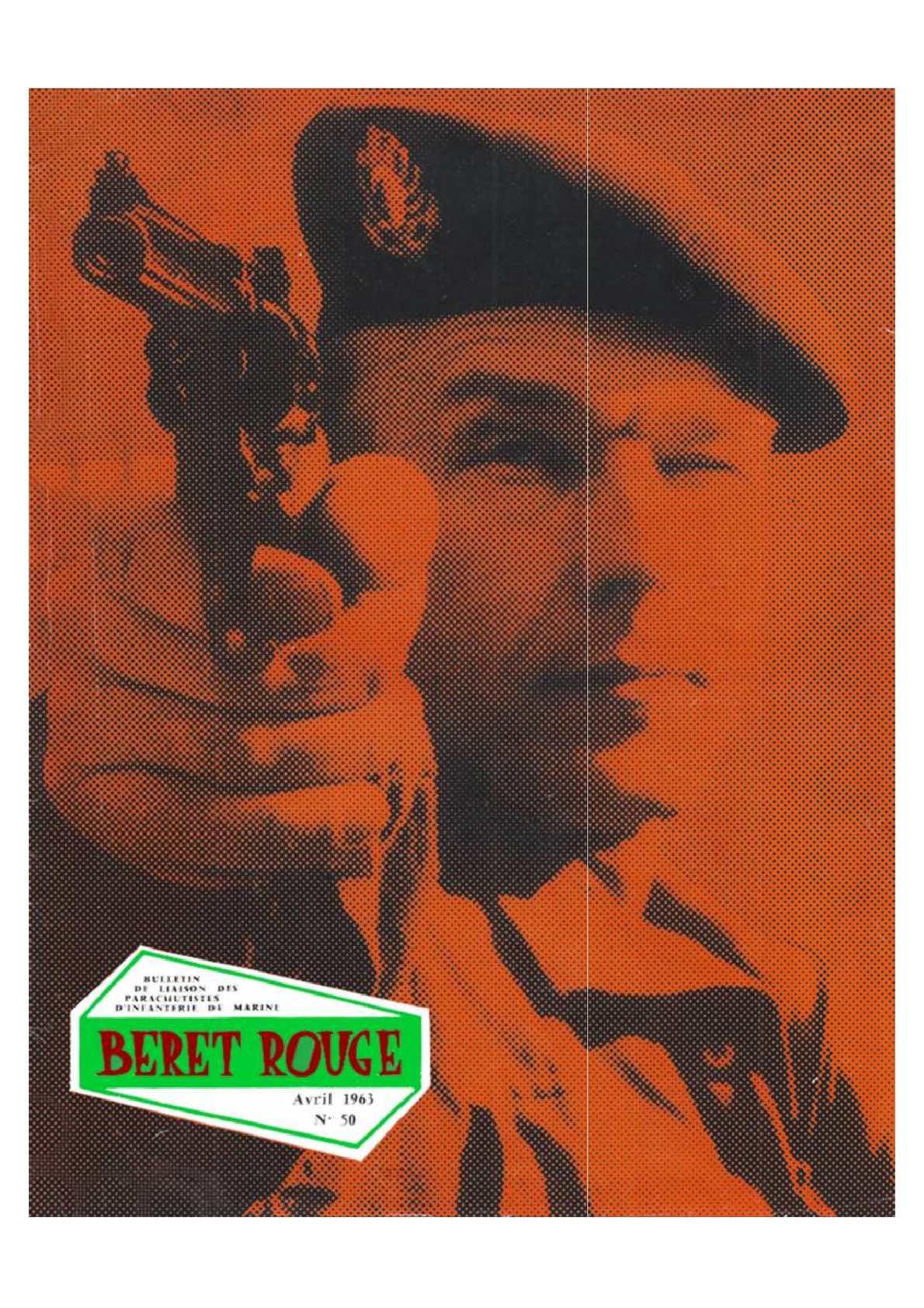 Beret Rouge N°50 Avril 1963