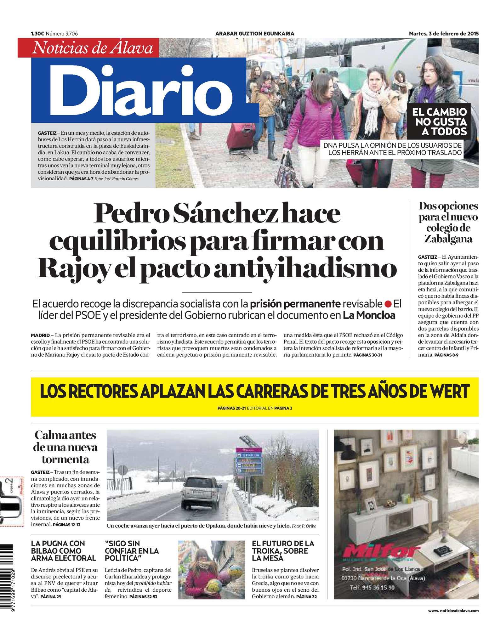 Diario de Noticias de Álava 20150203