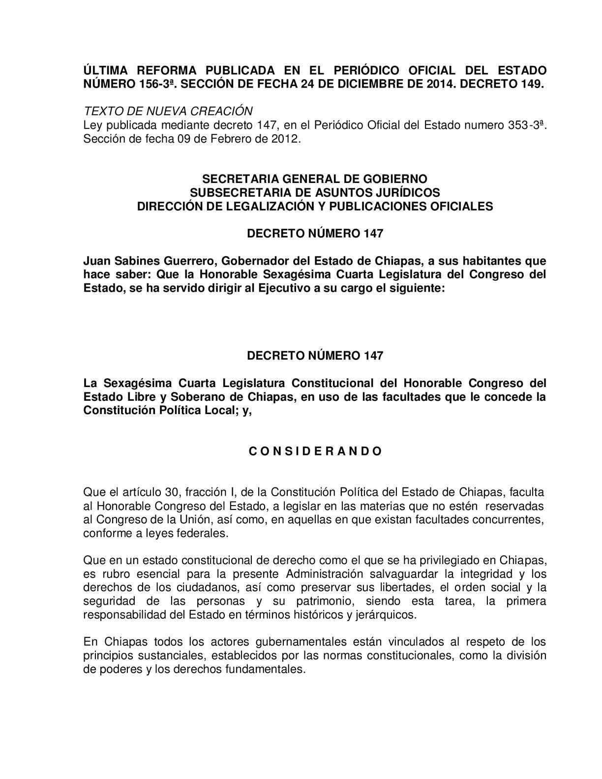 Calaméo - Codigo De Procedimientos Penales Para El Estado De Chiapas