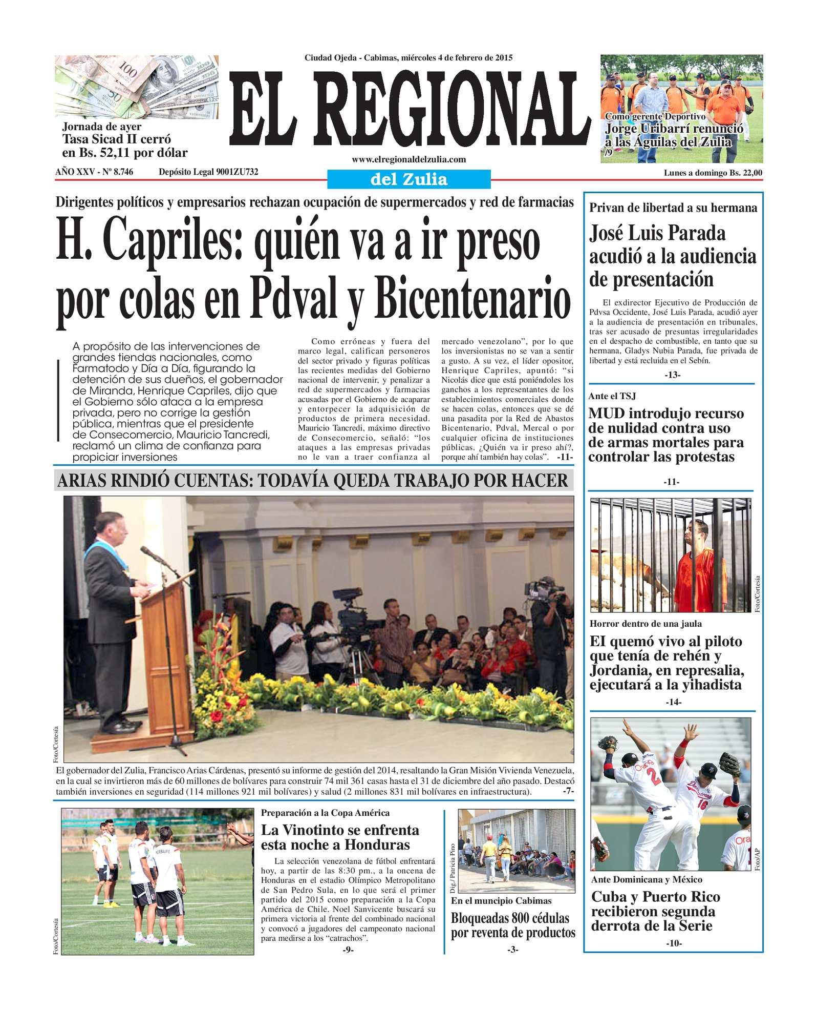 Calaméo - El Regional del Zulia 04-02-2015