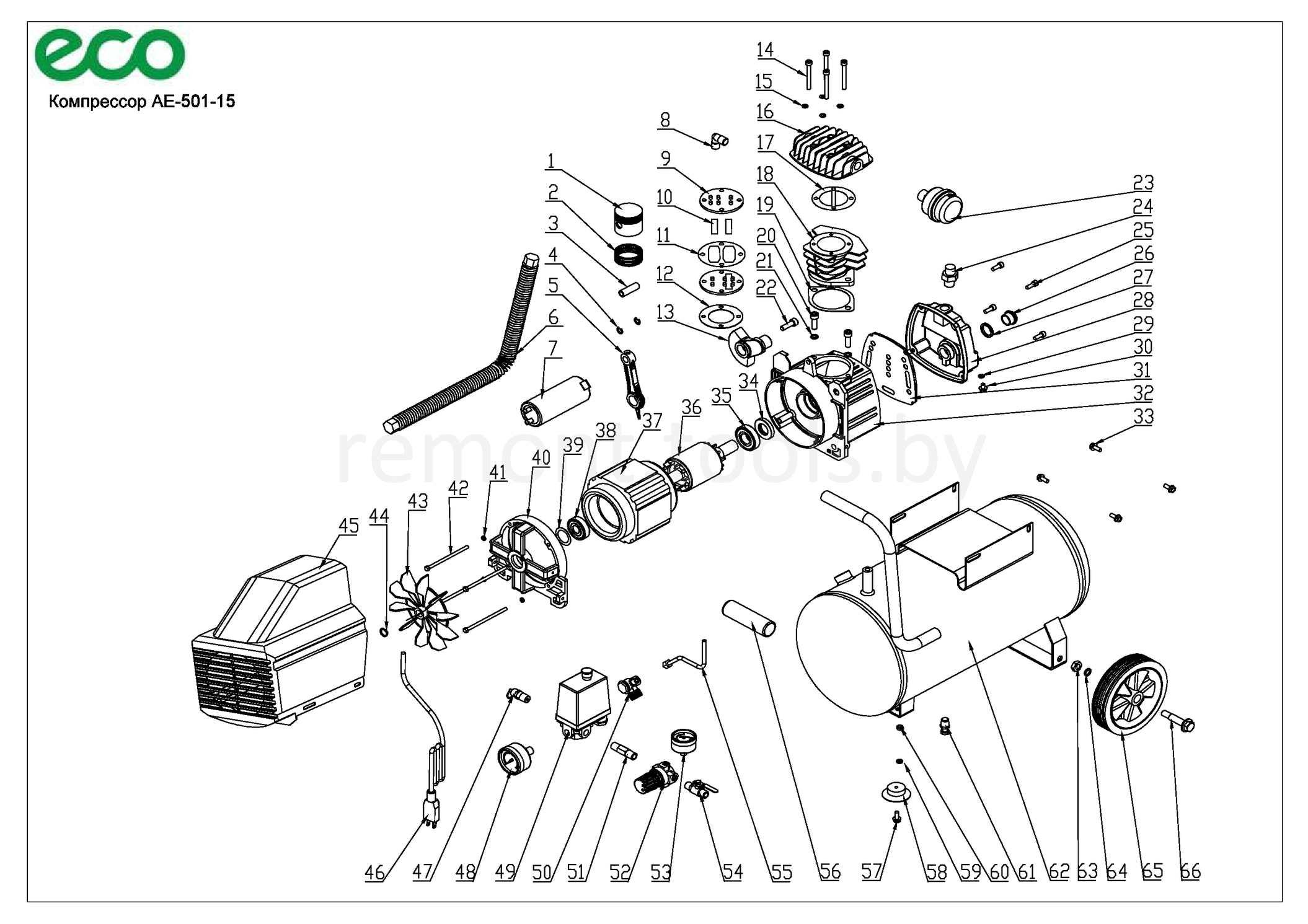 Eco Компрессор Ae 501 15