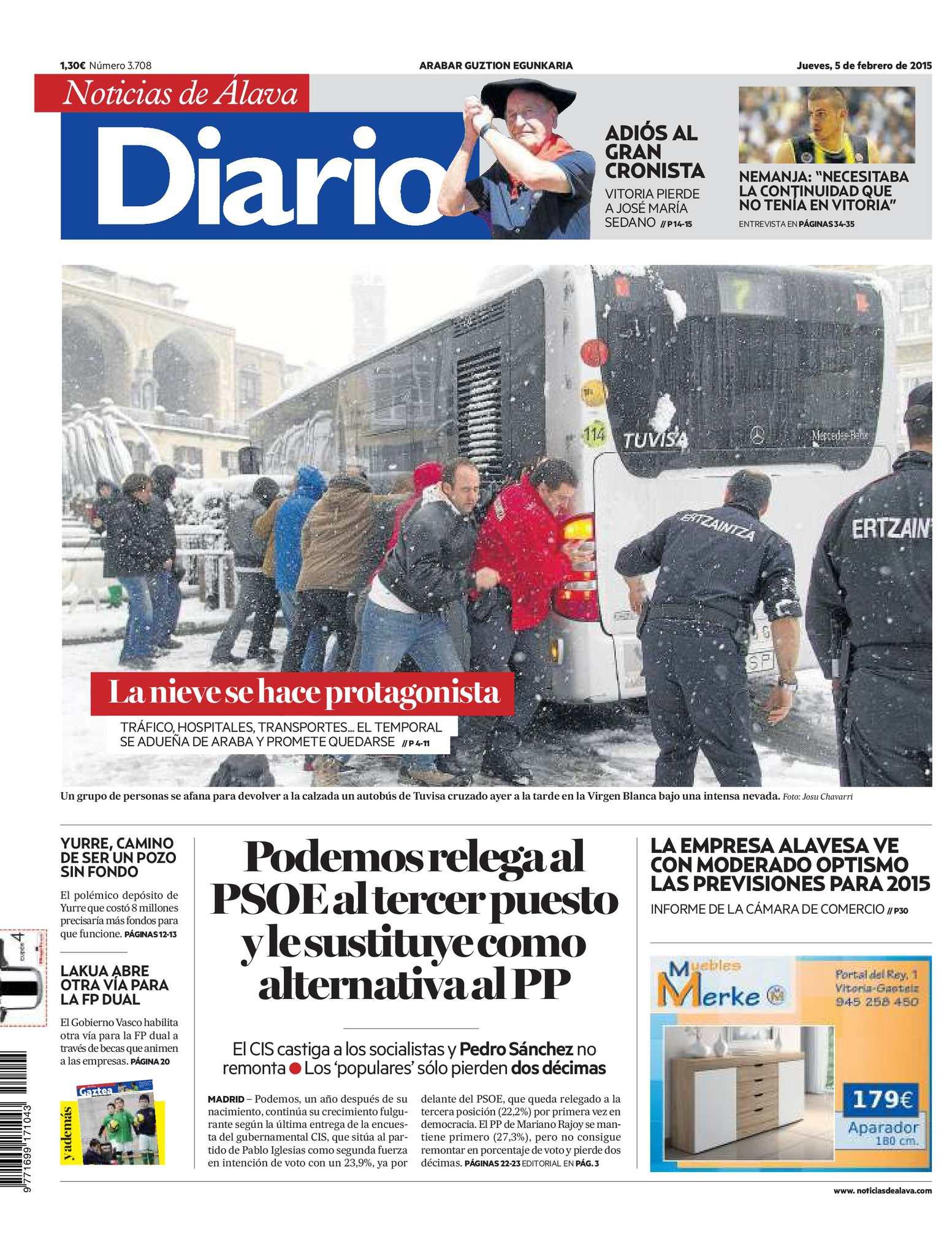 Diario de Noticias de Álava 20150205