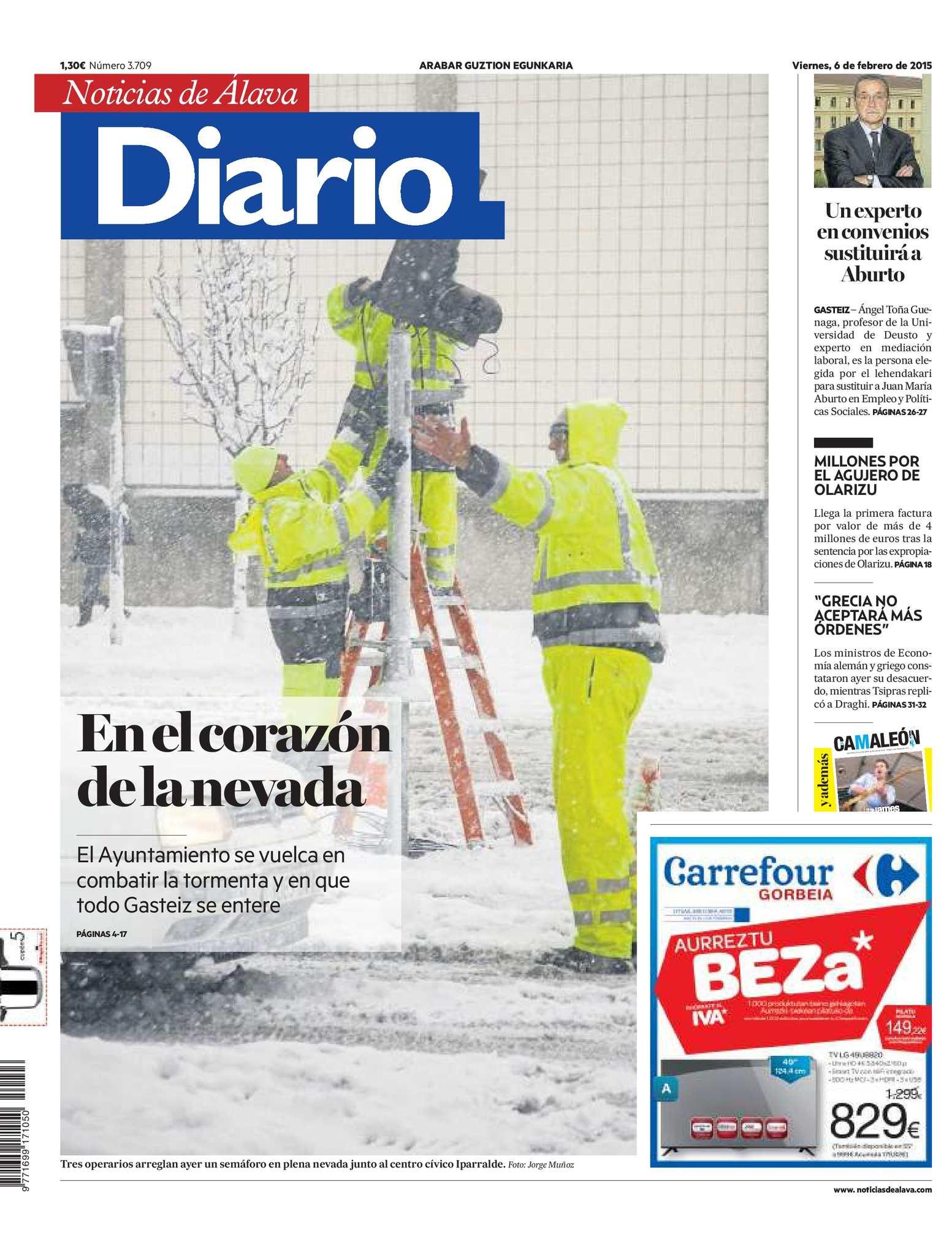 Diario de Noticias de Álava 20150206