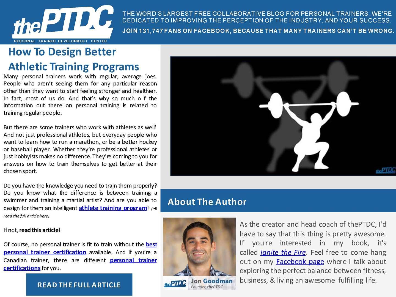 Calamo Quick Tips To Design Better Athletic Training Programs