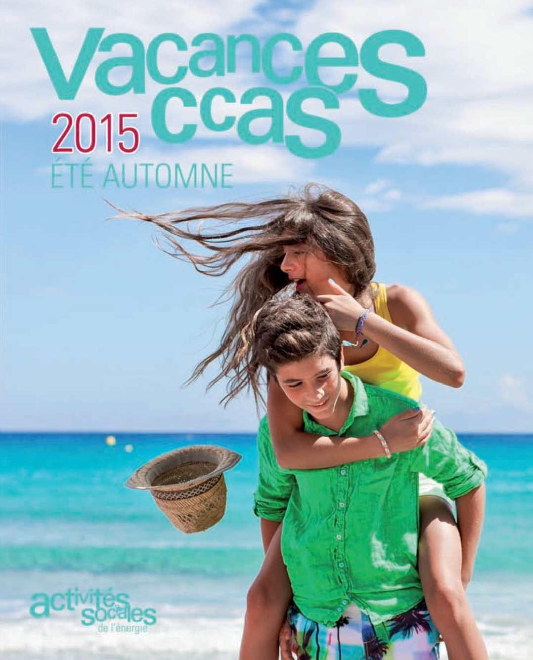 Calam o catalogue ccas s jours adultes t automne 2015 Vacances automne 2015