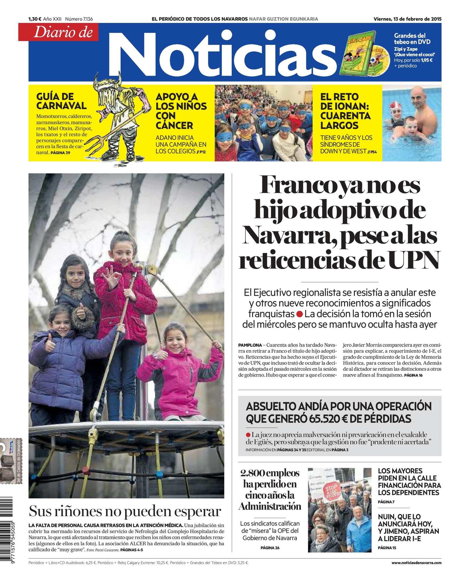 Calaméo - Diario de Noticias 20150213