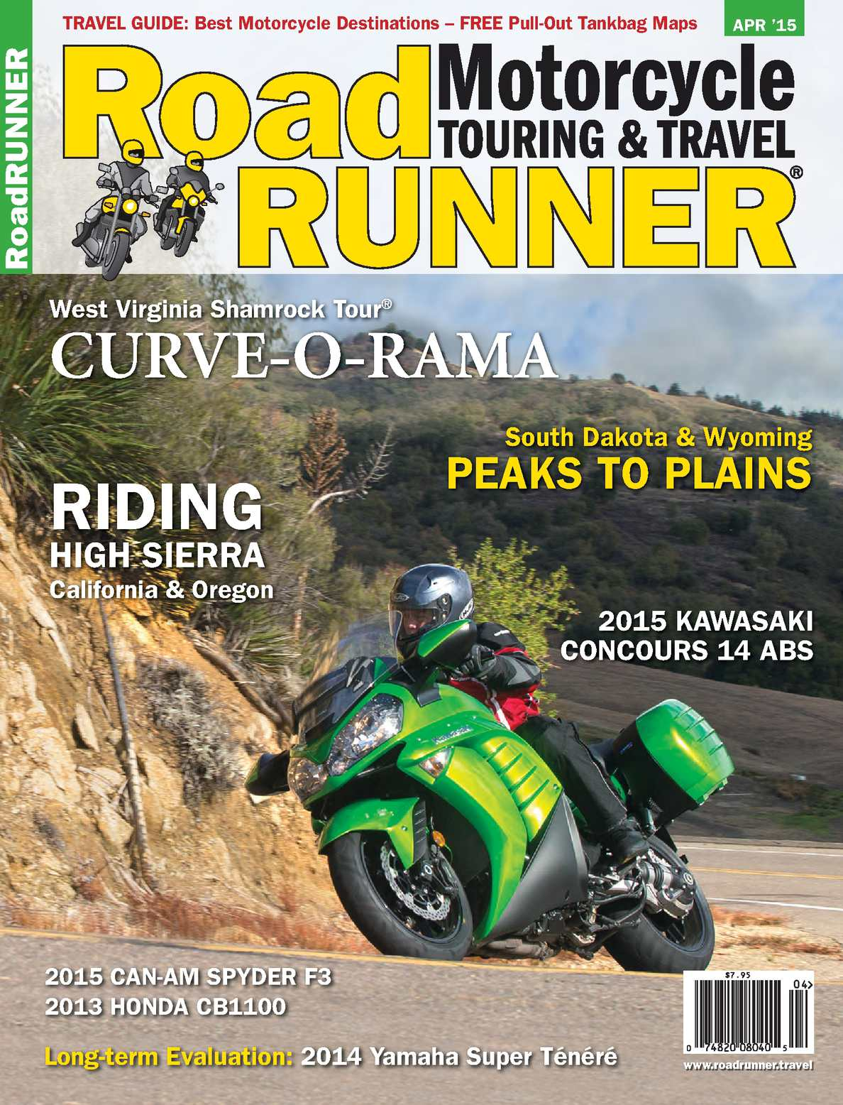 Calamo Roadrunner Motorcycle Touring Travel March April 2015 Cog Triumph Daytona 600 Charging And Starting System Circuit