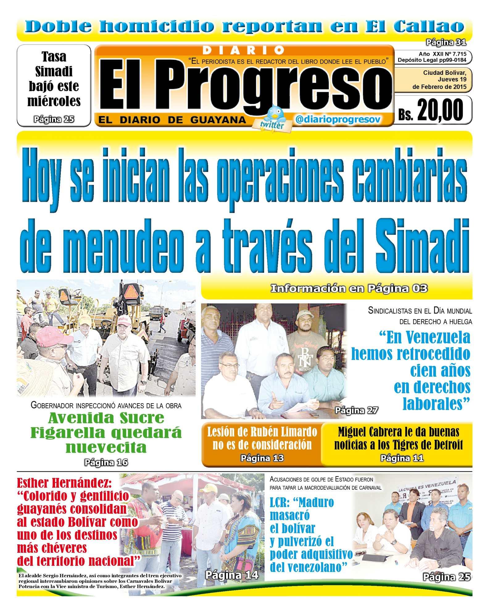 Calaméo - DiarioelprogresoEDICIÓNDIGITAL 19-02-2015
