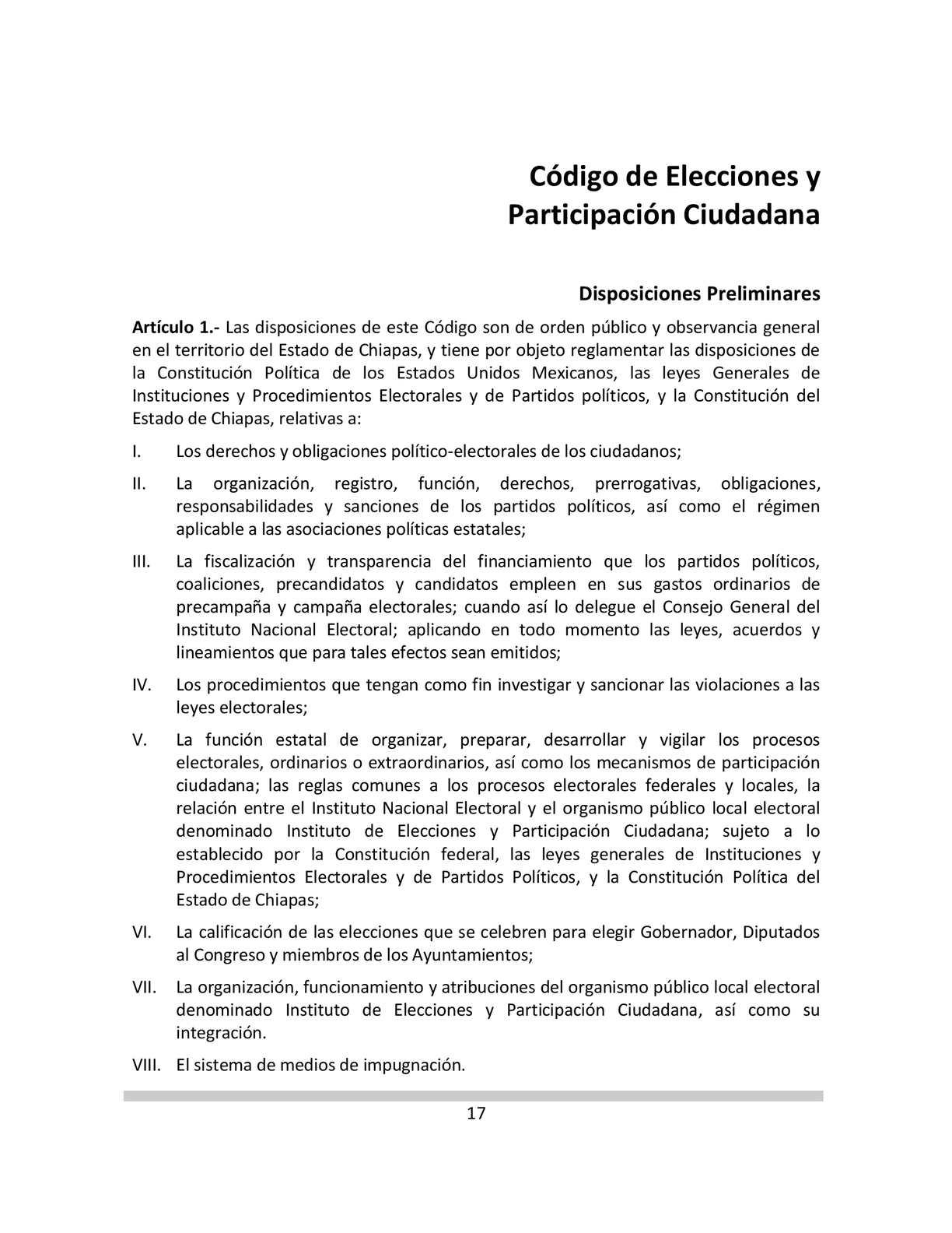 Calaméo - CÓDIGO DE ELECCIONES Y PARTICIPACIÓN CIUDADANA