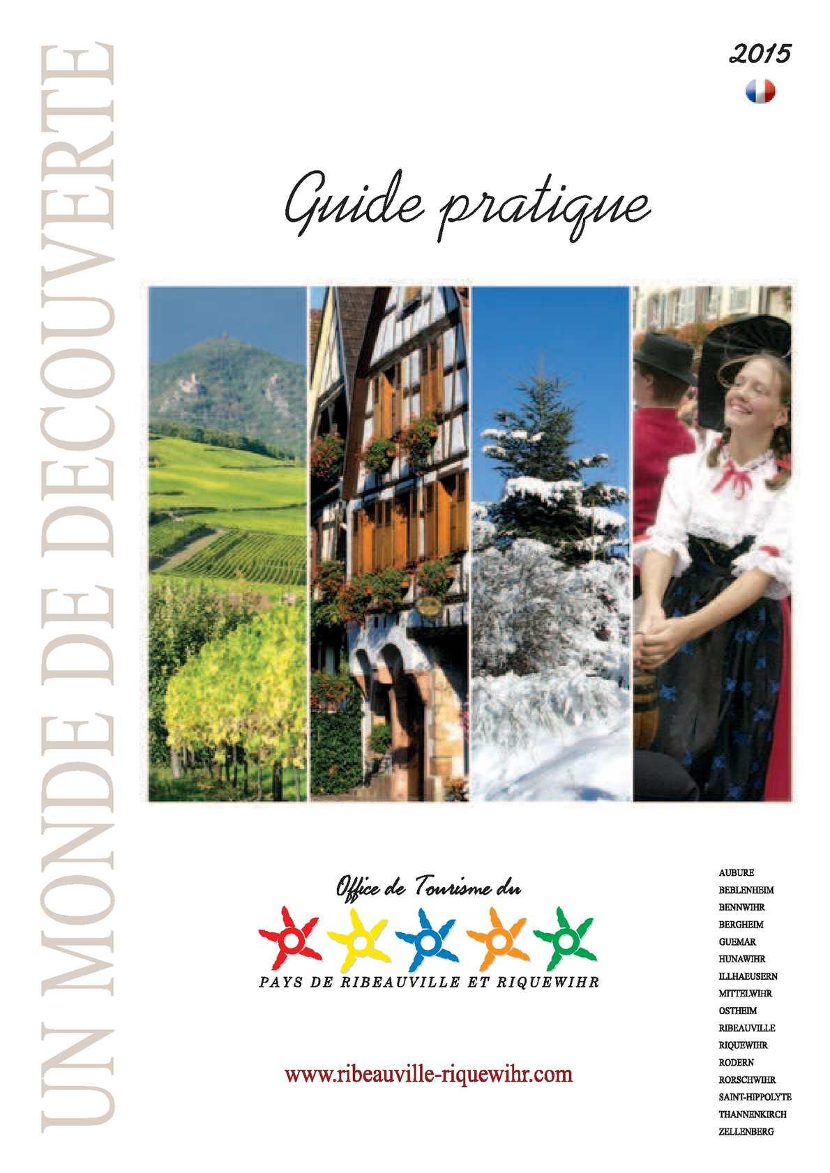 Calam o guide pratique 2015 pays de ribeauvill et riquewihr - Office du tourisme freiburg im breisgau ...