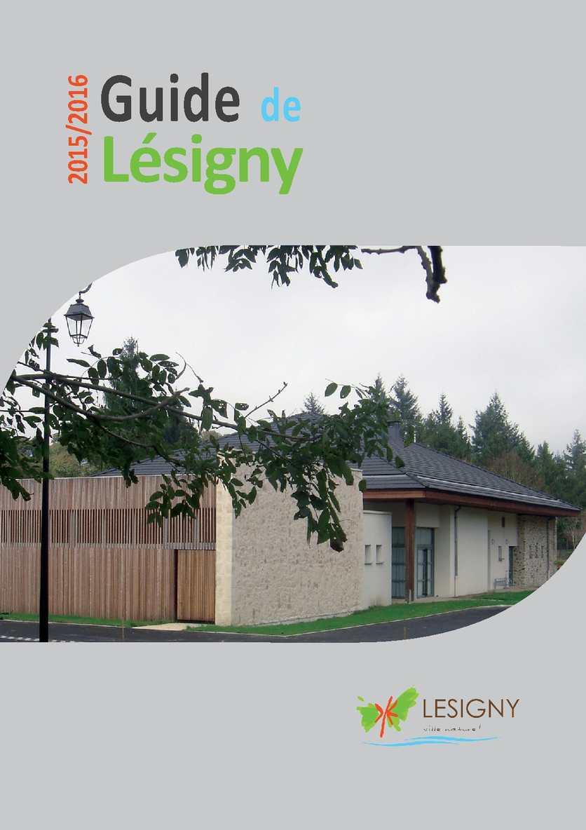 Guide Lésigny 2015