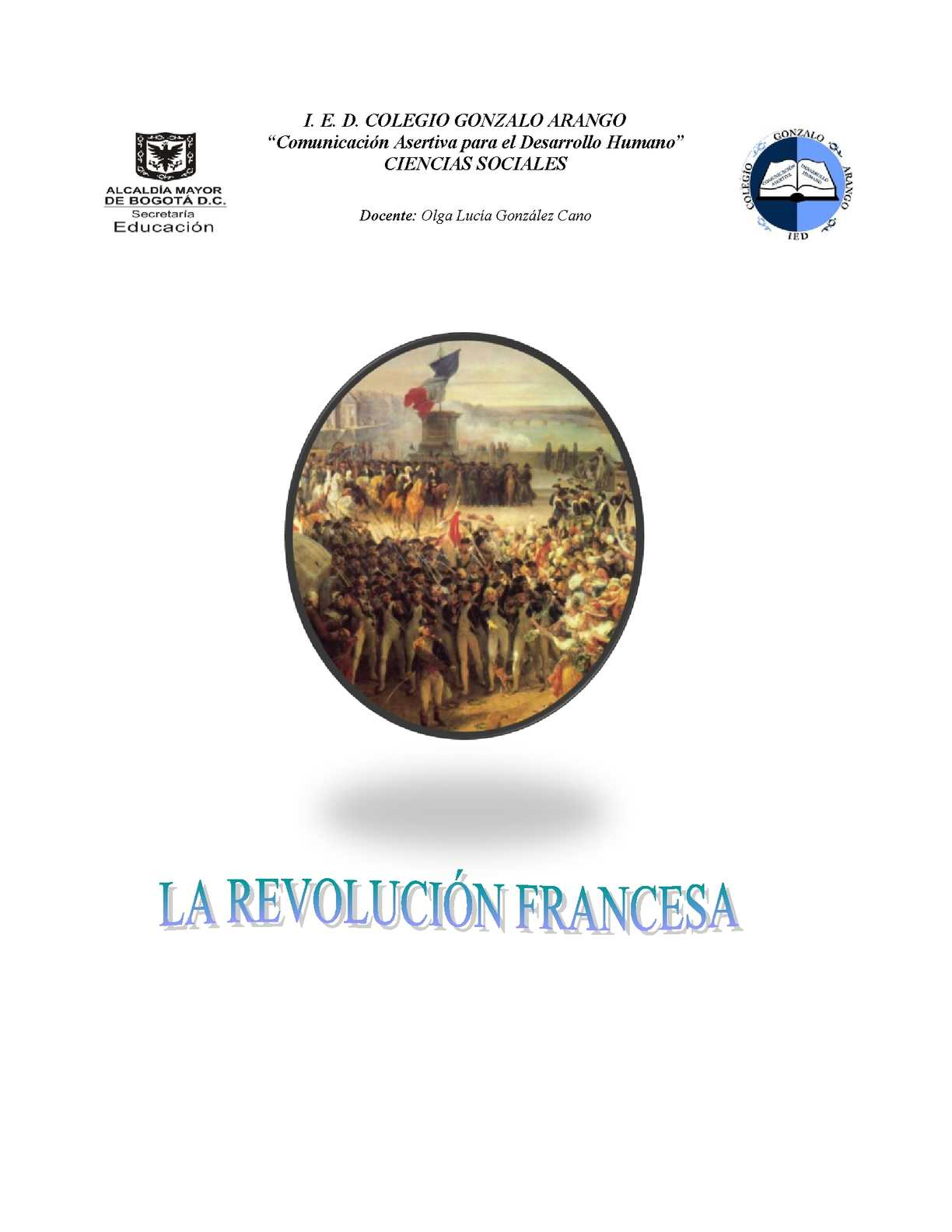 Taller Sociales La Revolución Francesa Version Calameo 1