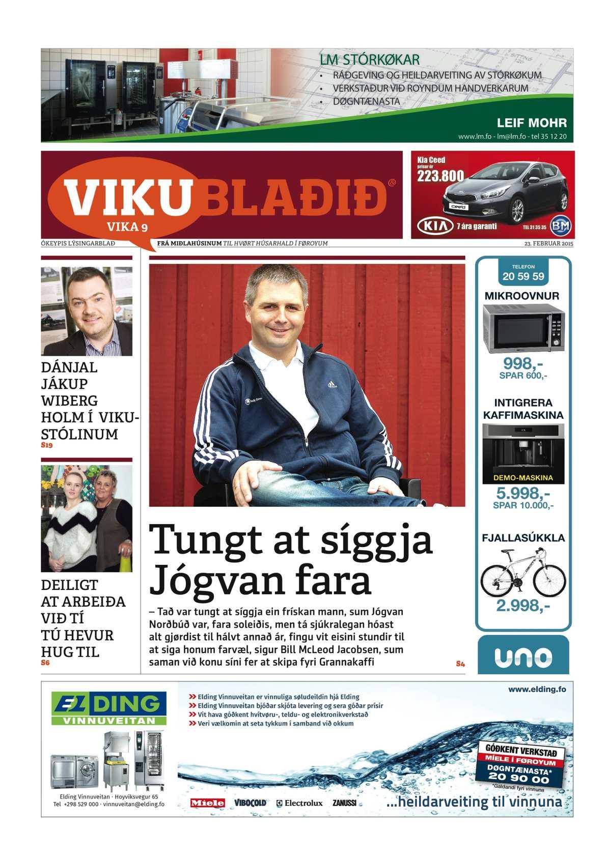 Vikublaðið 3. feb. 2015